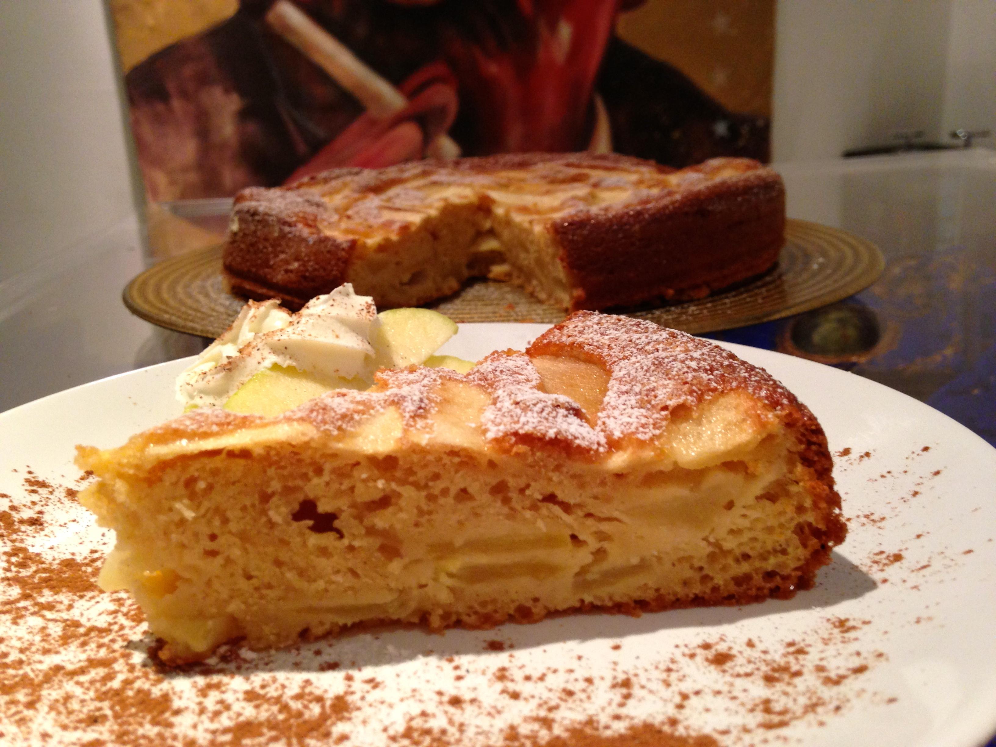 torta senza burro alle mele, il dolce senza lattosio di dolci senza burro