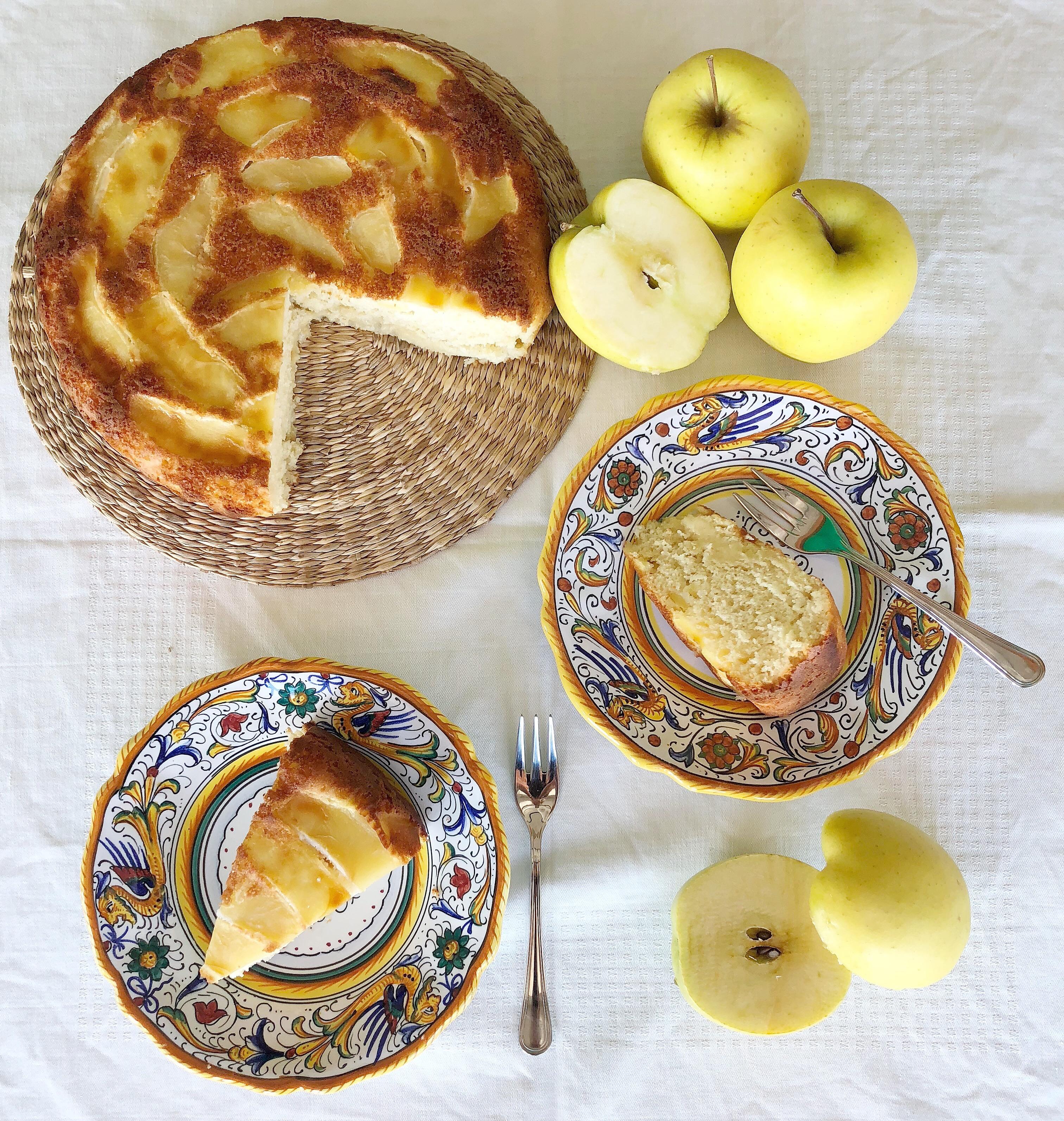 Torta di Mele Senza Burro, il dolce intramontabile in versione senza lattosio di dolci senza burro