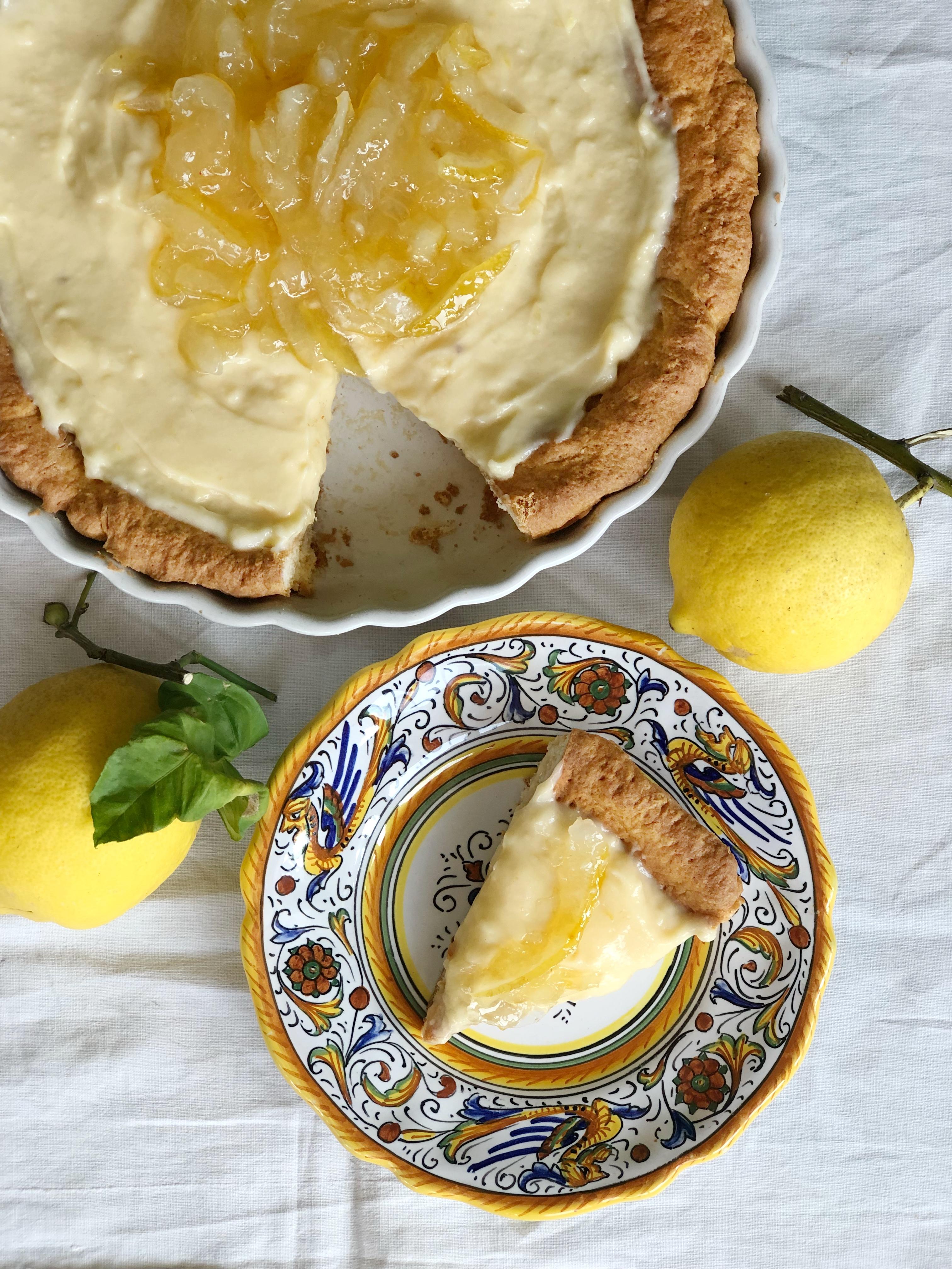Crostata al Limone Senza Burro, un dolce dal gusto fresco e delicato di dolci senza burro
