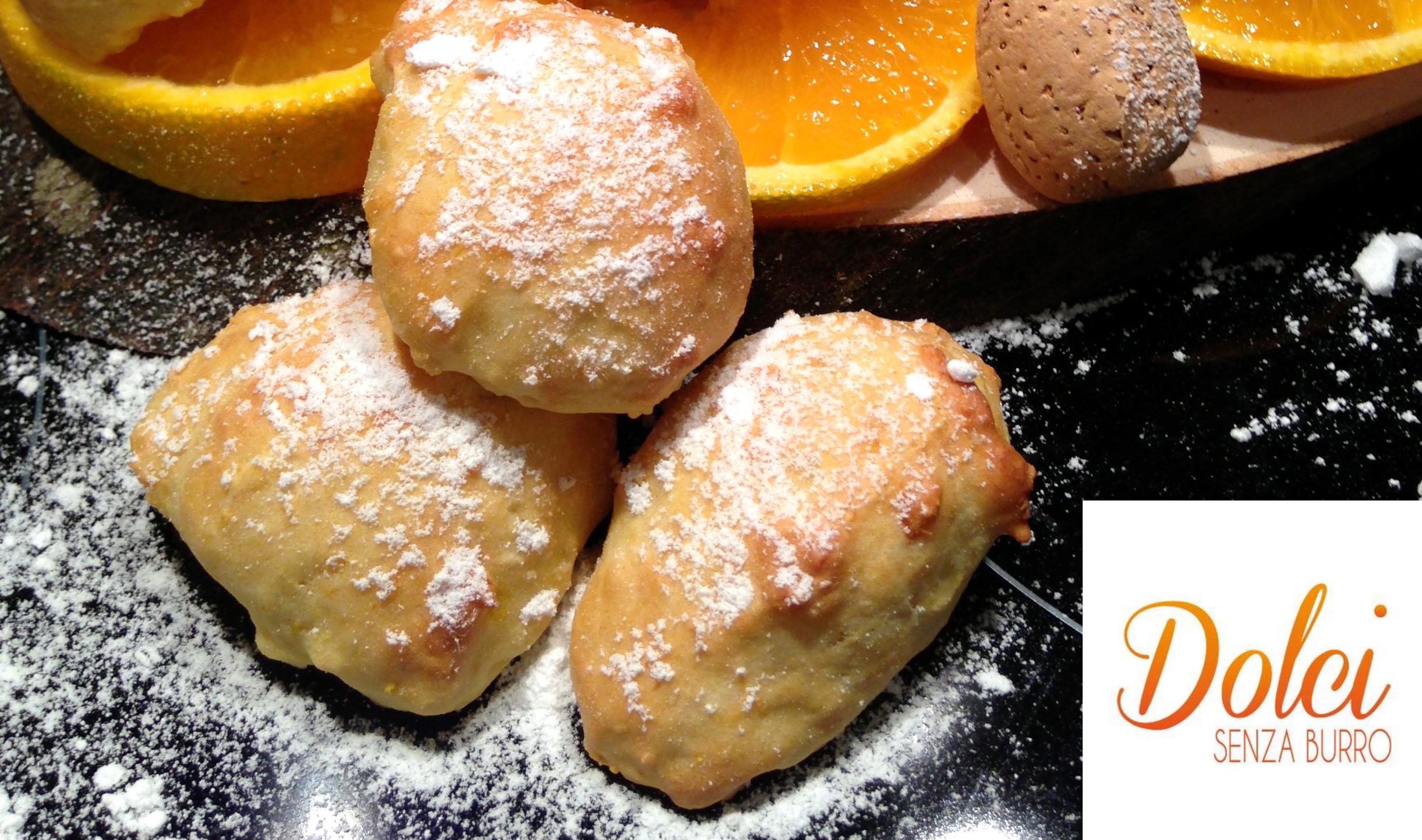Biscotti all Arancia Senza Burro, i biscotti morbidi e leggeri di Dolci Senza Burro