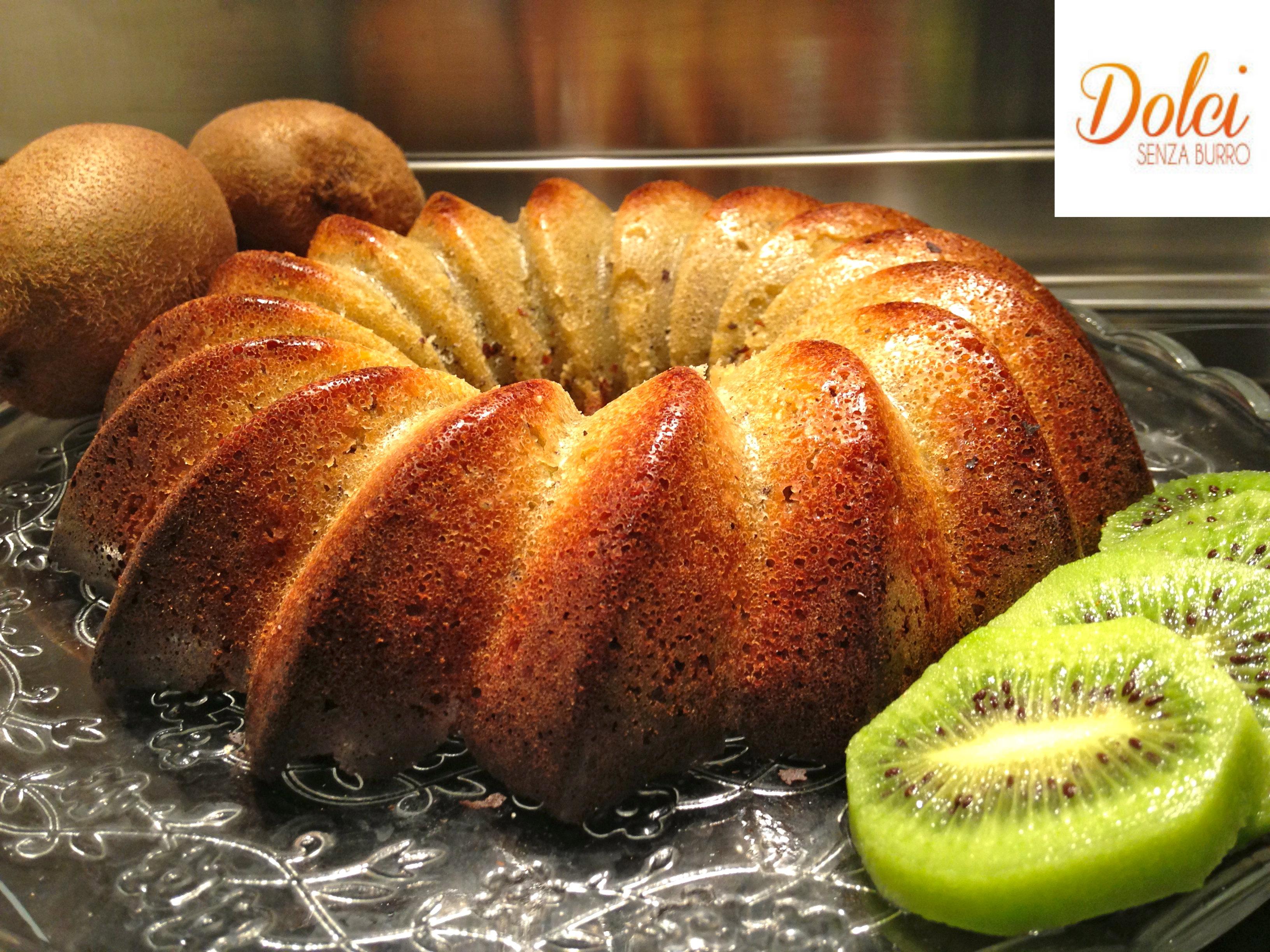 Torta ai Kiwi Senza Burro la ricetta golosa di Dolci Senza Burro