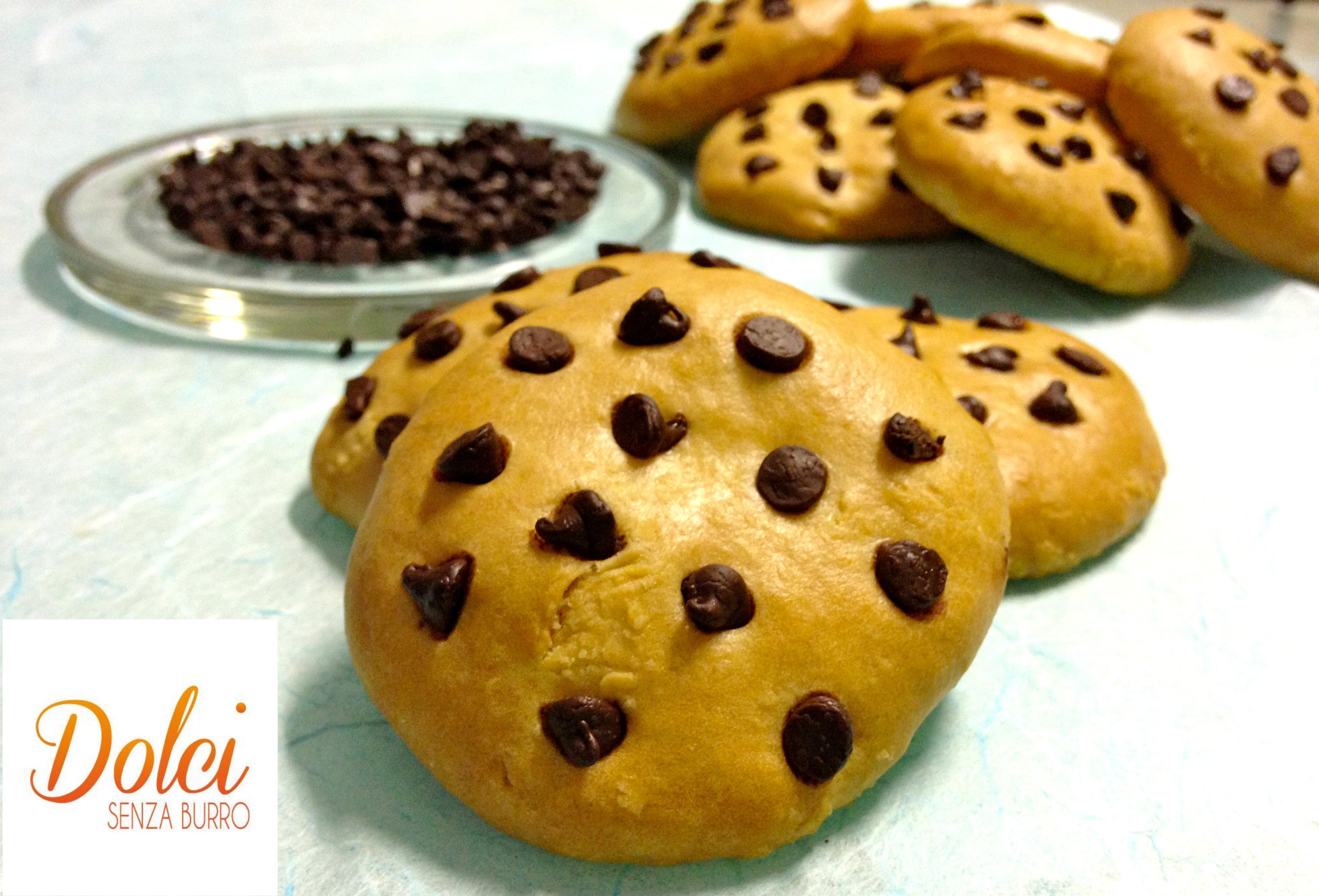 Cookies Senza Burro, i biscotti americani light di Dolci Senza Burro
