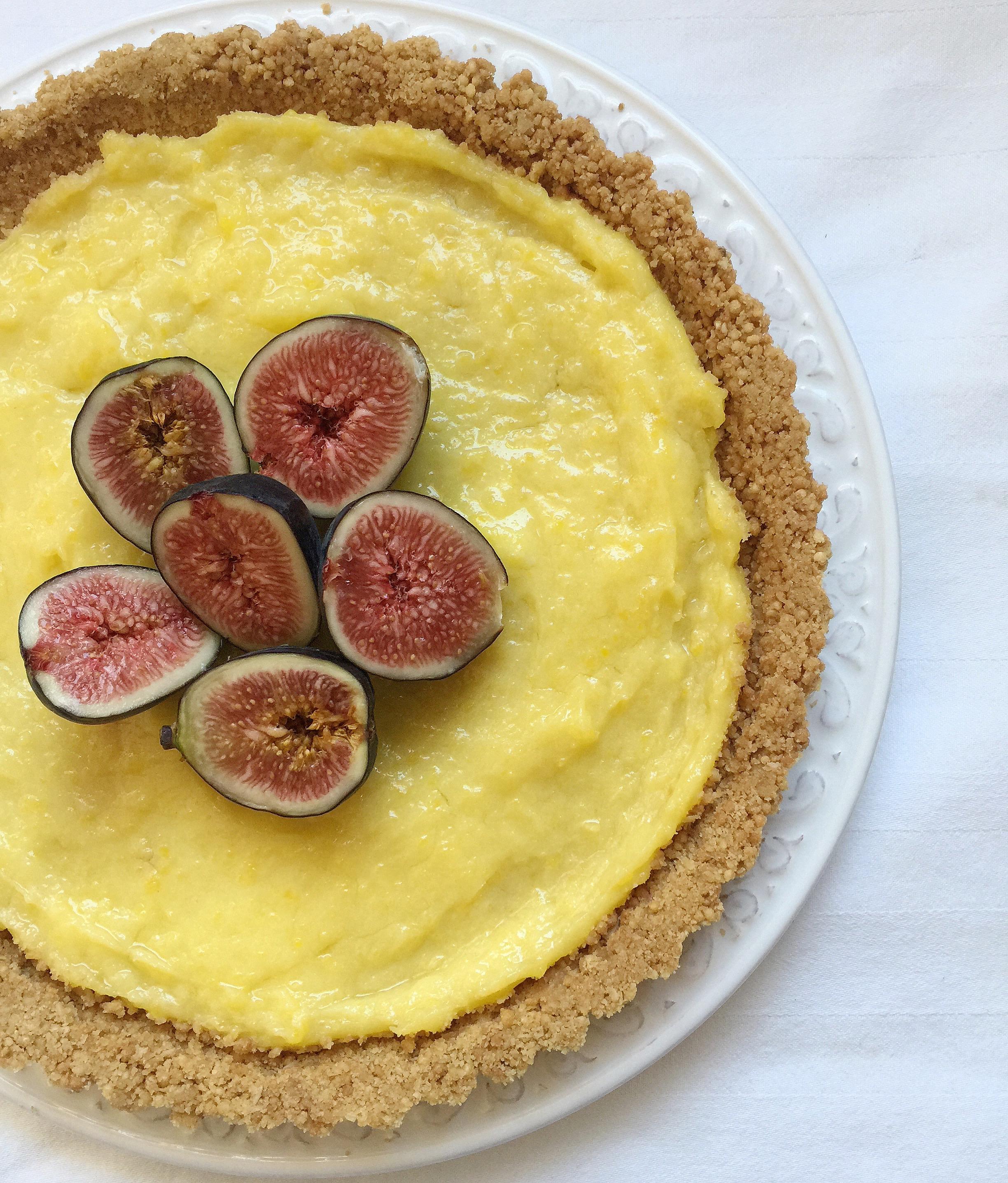 Crostata di Fichi Senza Burro, un dolce dal gusto delicato e goloso di dolci senza burro