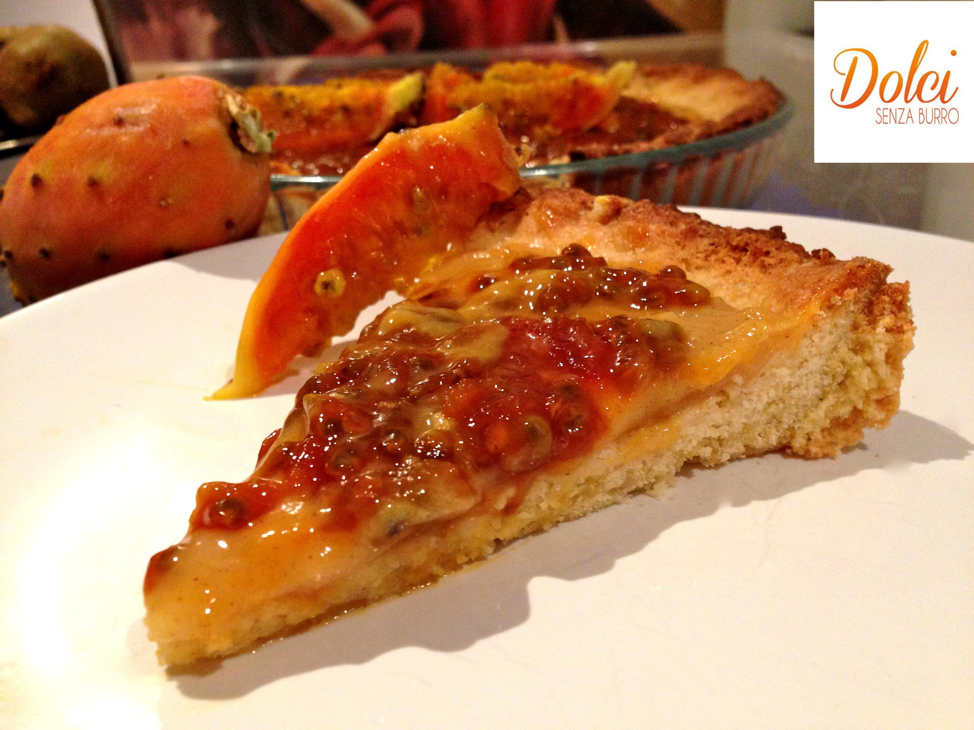 Crostata ai fichi senza burro dolci senza burro for Nuove ricette dolci