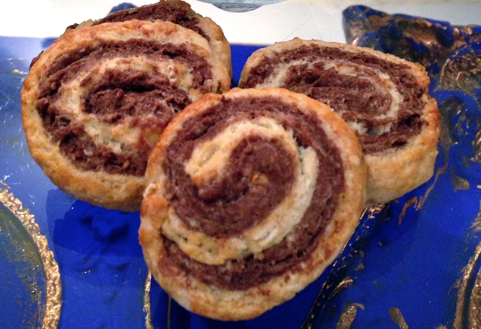 biscotti girandola senza burro, il biscotto bicolore di Dolci Senza Burro