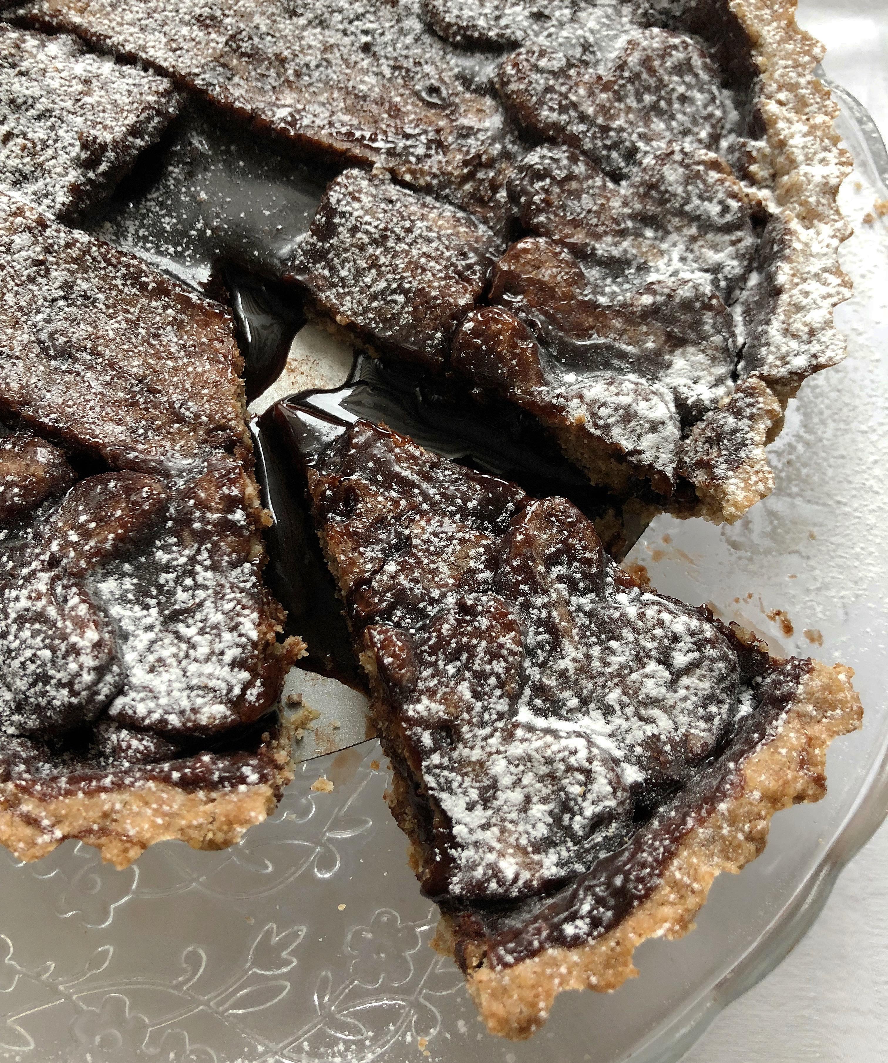 Crostata al Cioccolato Senza Burro super golosa di dolci senza burro
