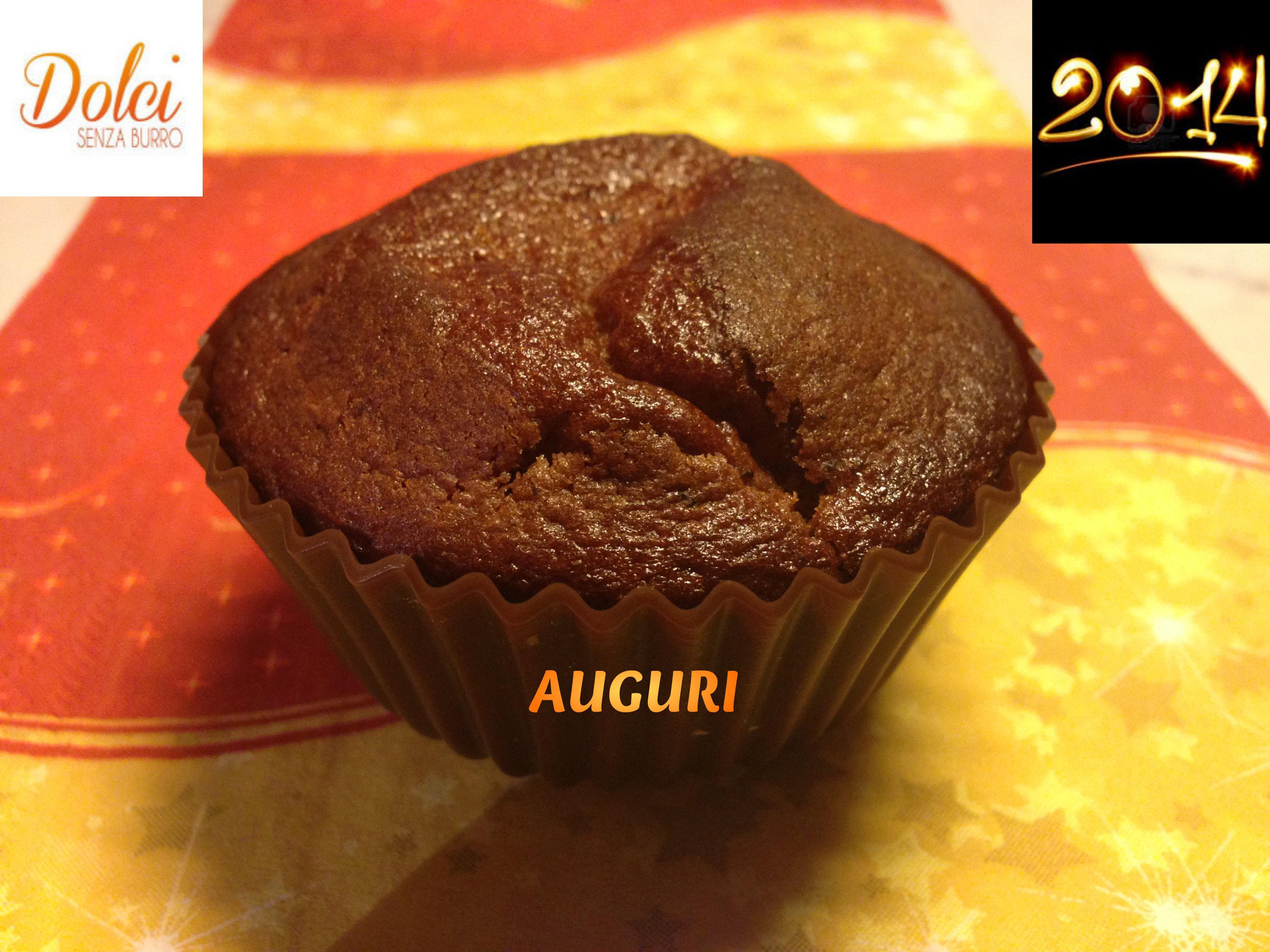 muffin senza burro al cioccolato - dolci senza burro