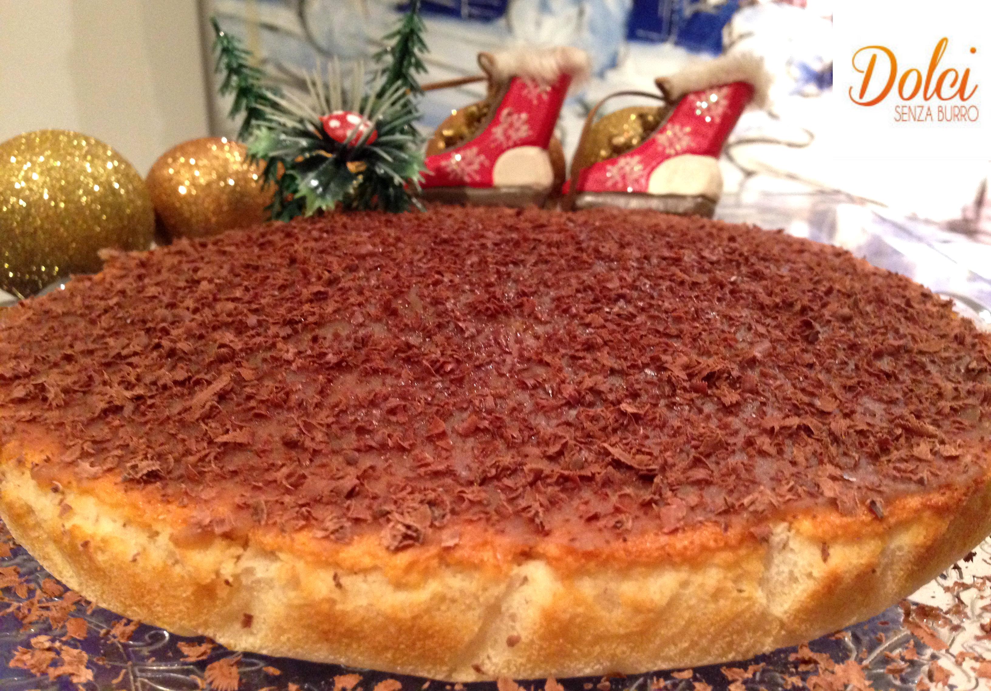 Torta Senza Burro con Crema alle Castagne, il dolce senza lattosio e uova di Dolci Senza Burro