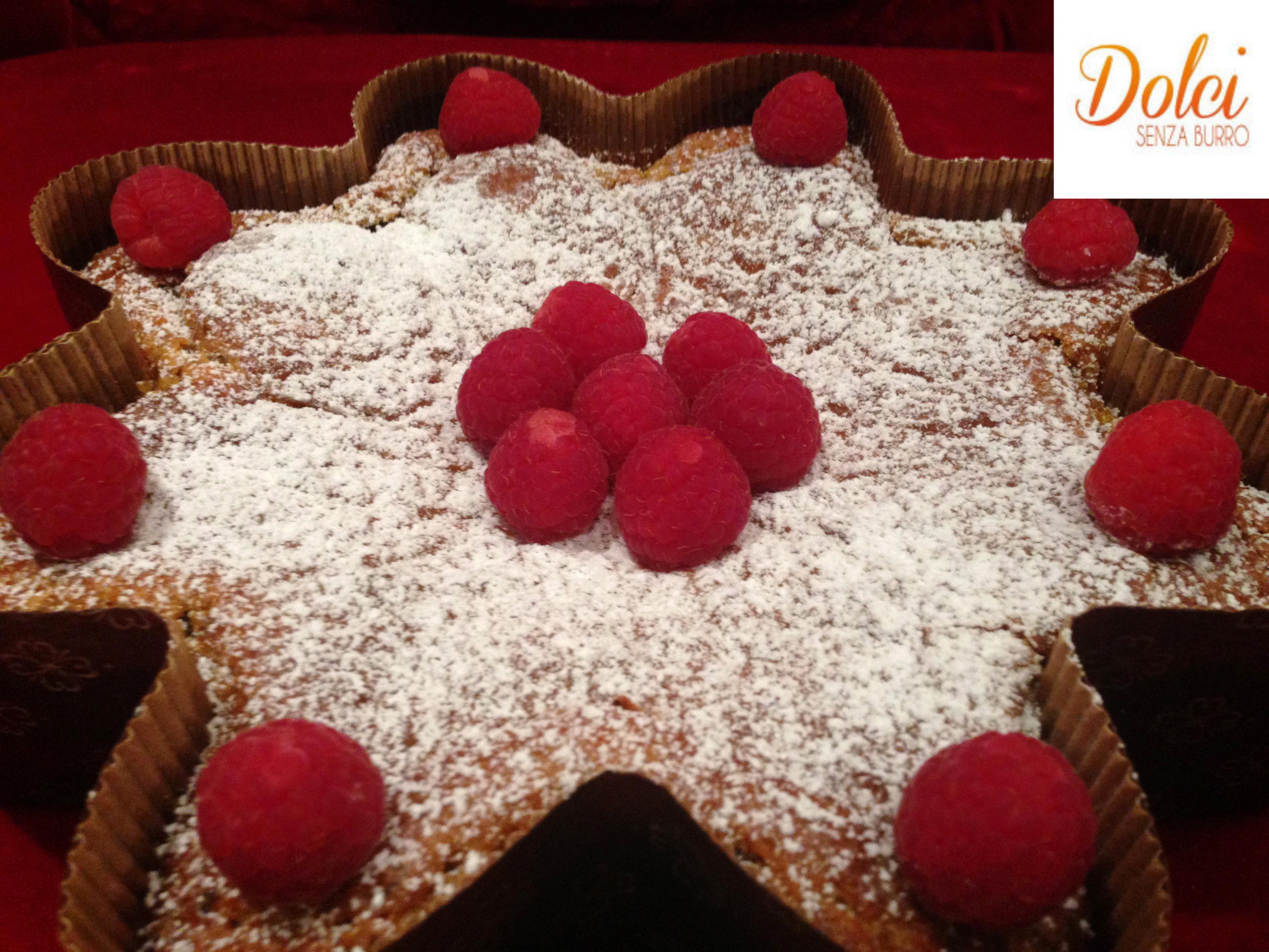 Torta Senza Burro e Uova alla Curcuma, un dolce speciale di Dolci Senza Burro