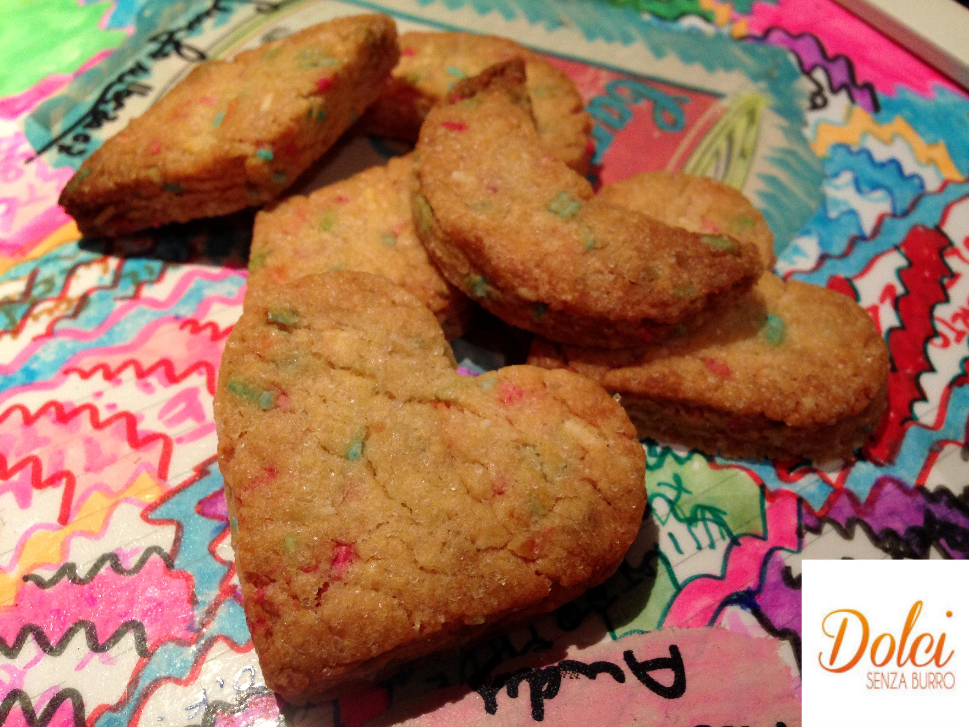 Biscotti di Carnevale Senza Burro, i biscotti senza lattosio di Dolci Senza Burro