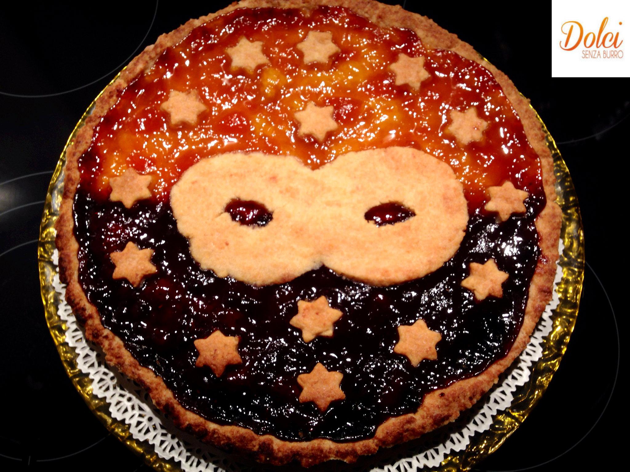 Crostata Senza Burro di Carnevale il dolce di carnevale di Dolci Senza Burro