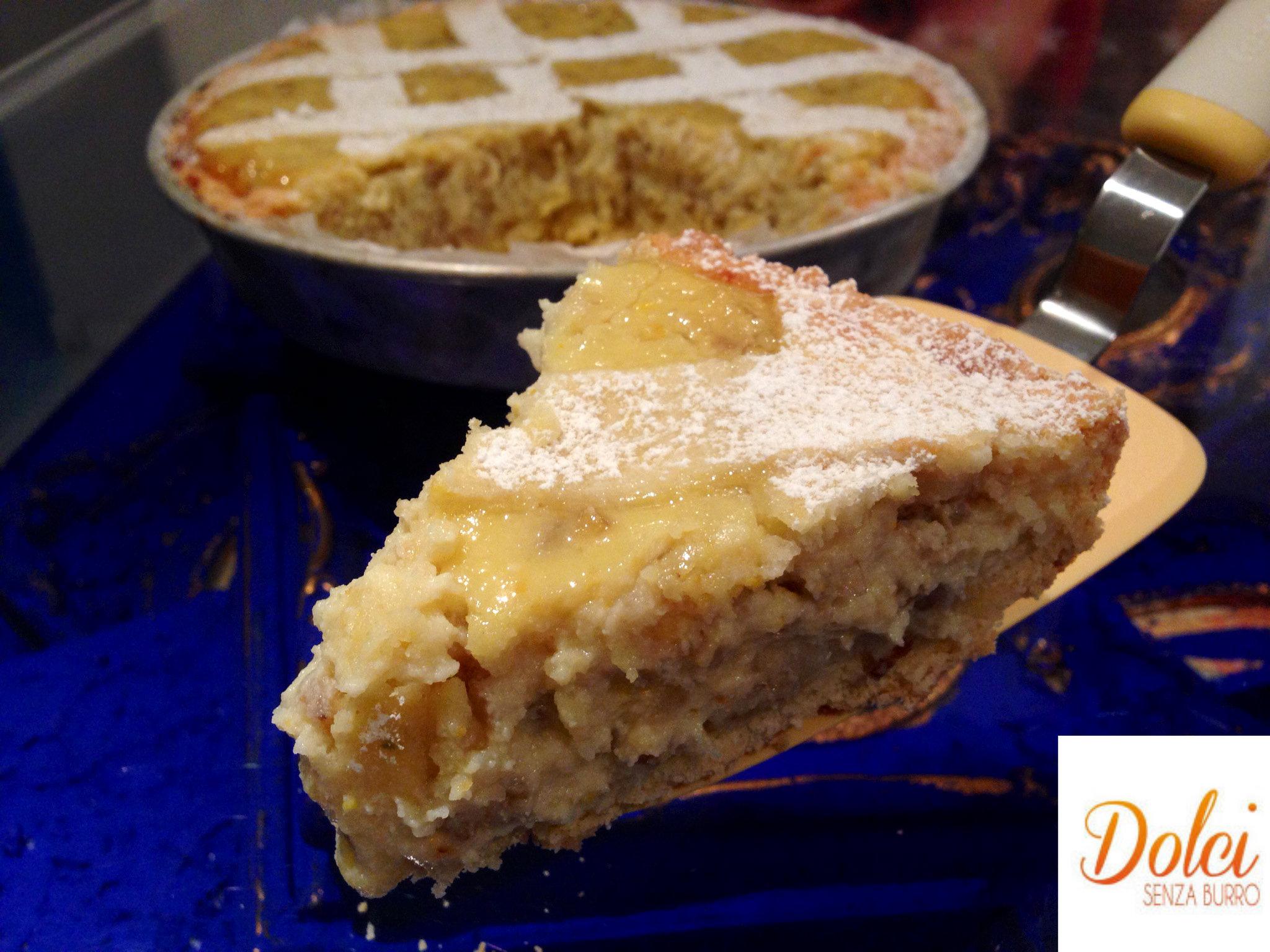 Pastiera Senza Burro, il famoso dolce di natale in frolla senza burro di Dolci Senza Burro
