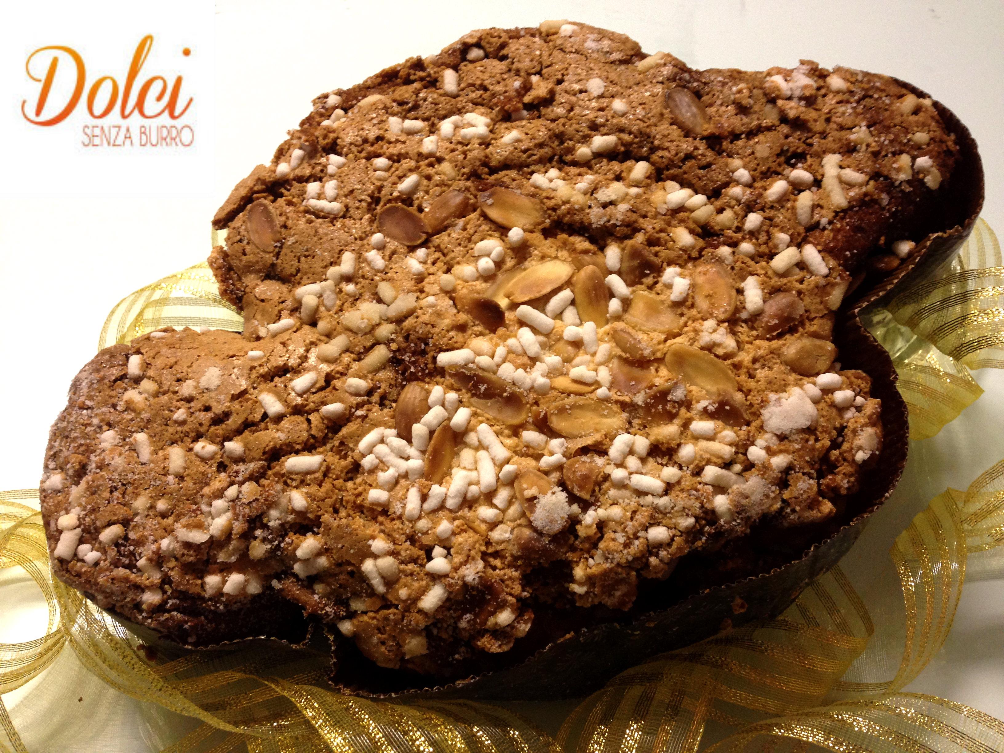 Colomba Senza Burro, il classico dolce di Pasqua in versione senza lattosio di Dolci Senza Burro