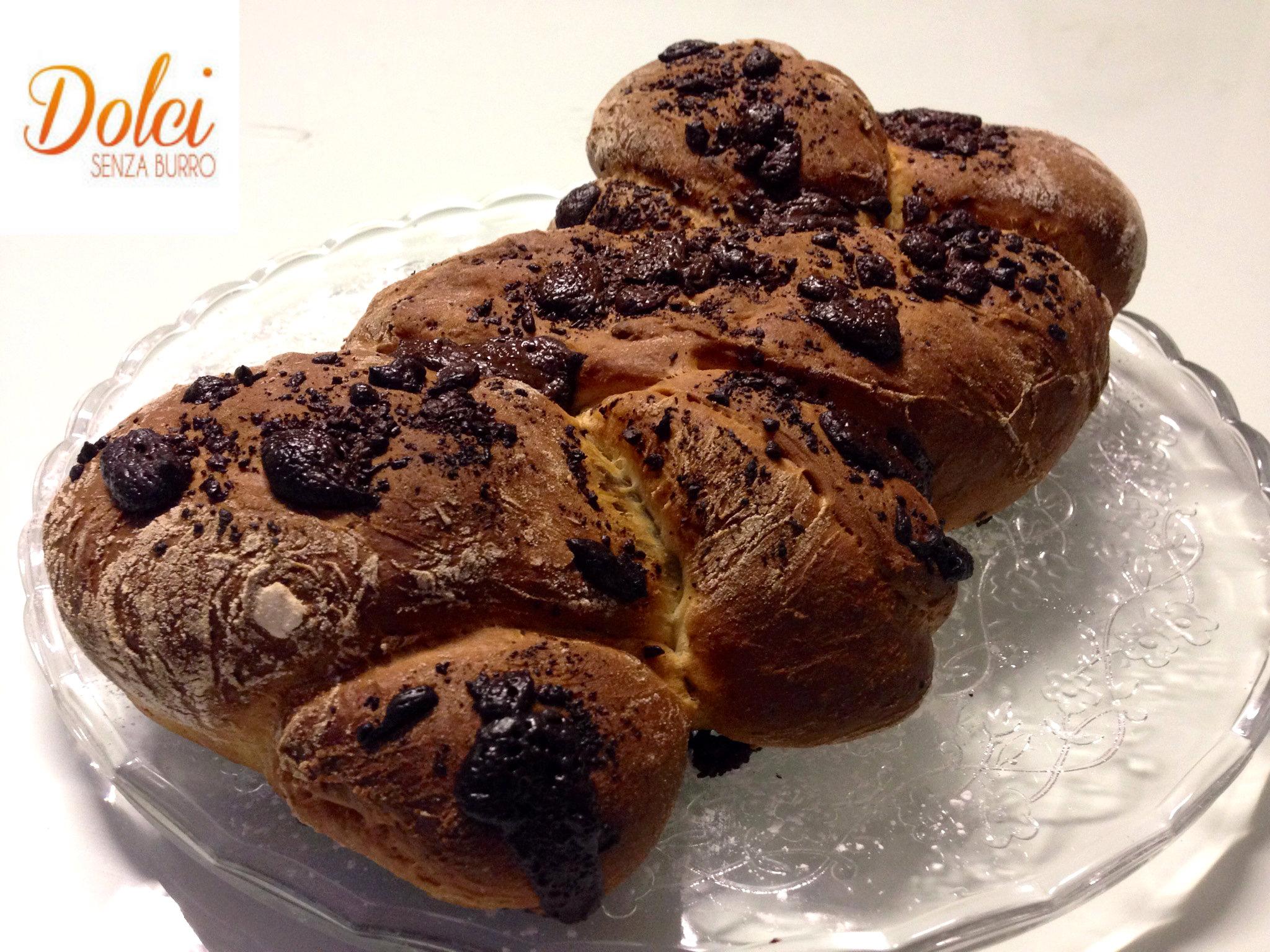 Treccia dolce senza burro al cioccolato dolci senza burro for Nuove ricette dolci