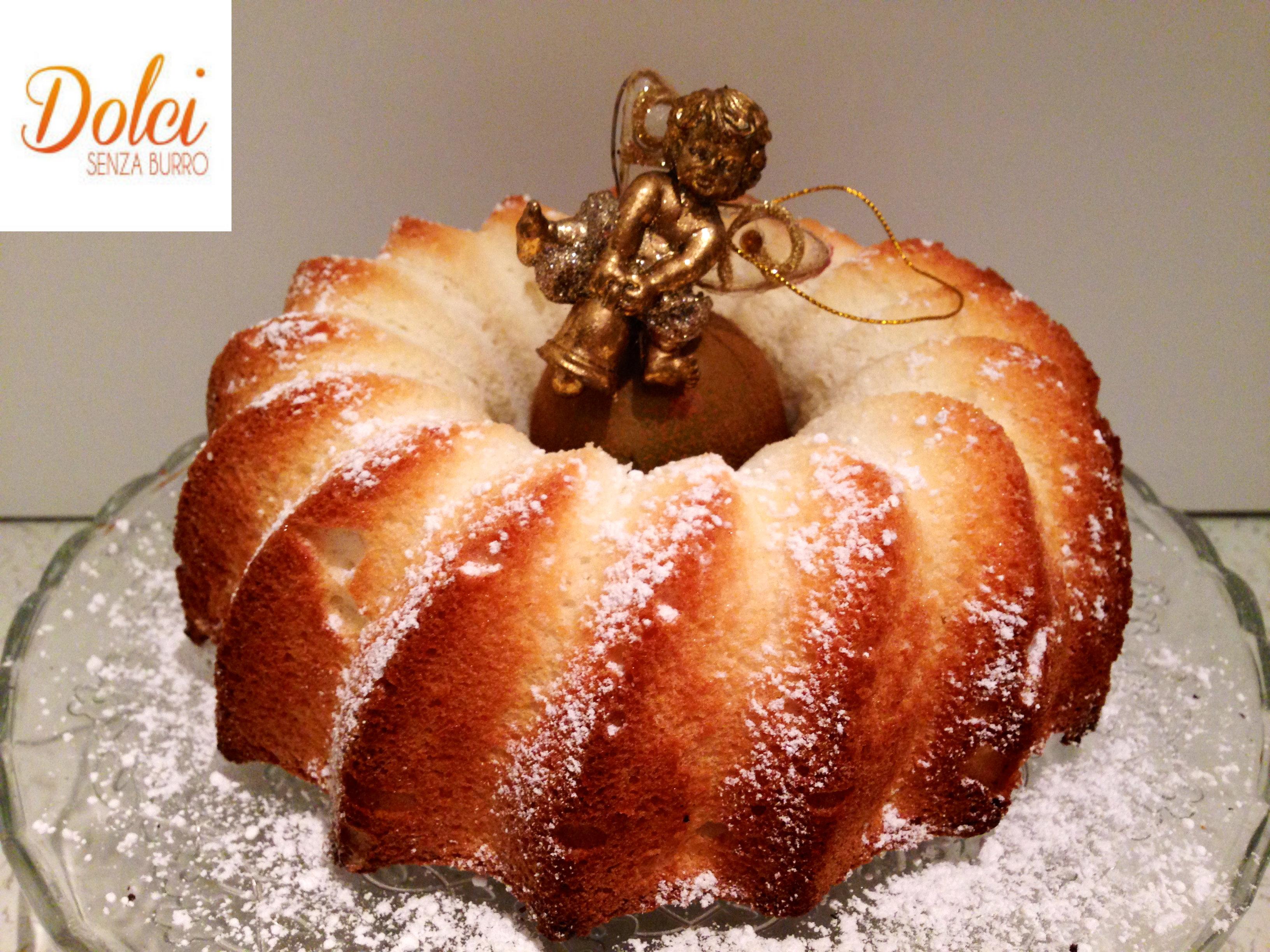 Angel Cake, la torta di albumi più soffice che esista di Dolci Senza Burro