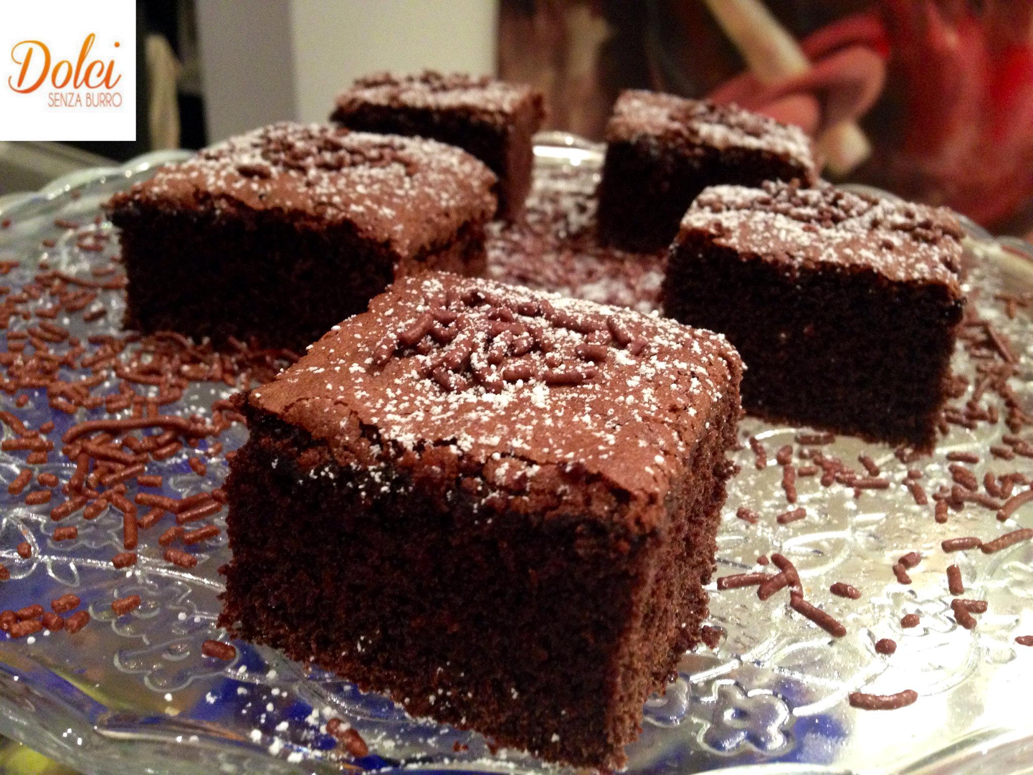 Torta al Caffè e Cioccolato Senza Burro, il dolce goloso di dolci senza burro