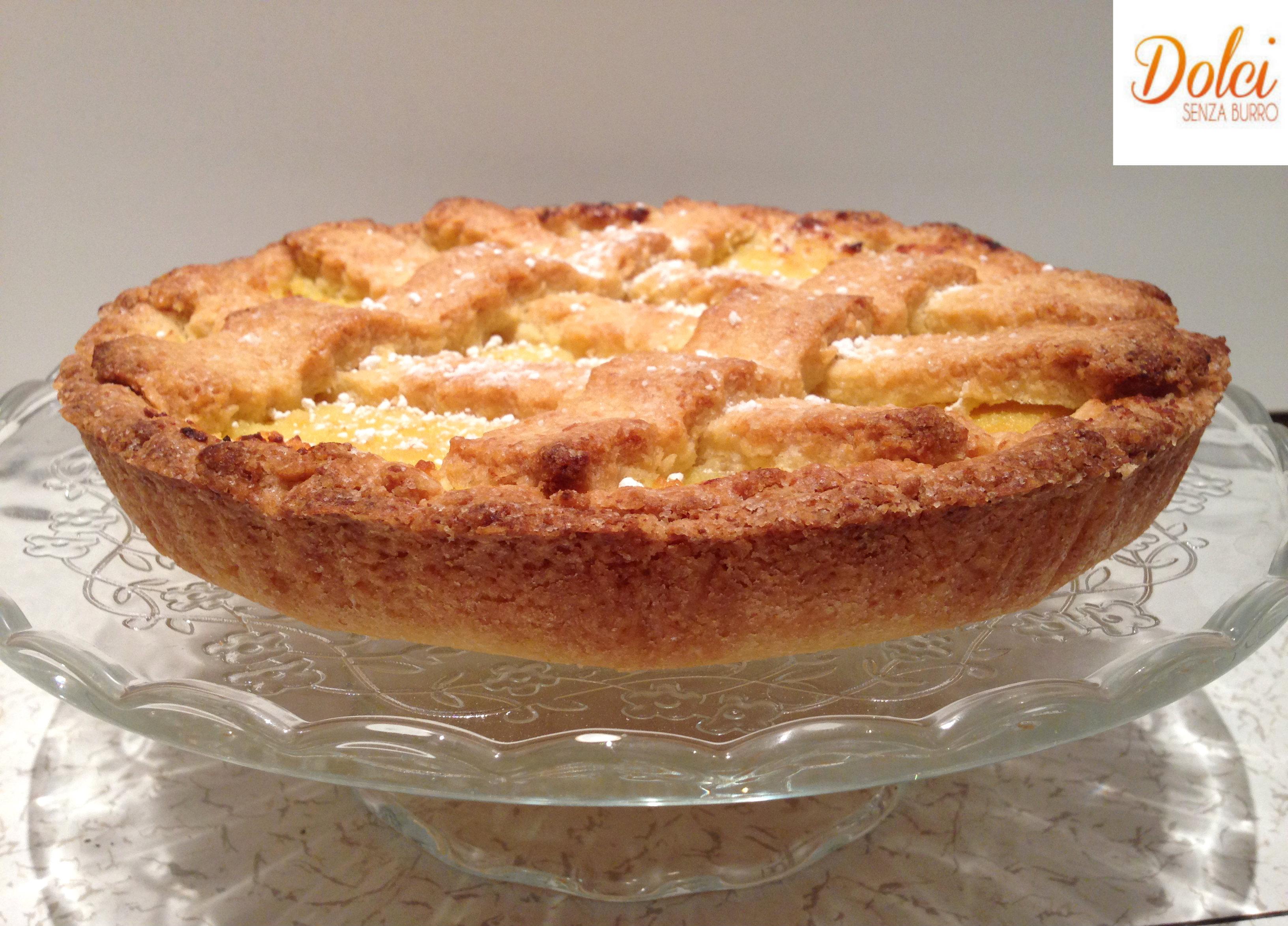 Crostata di Limone e Cocco Senza Burro, un gusto speciale di Dolci Senza Burro