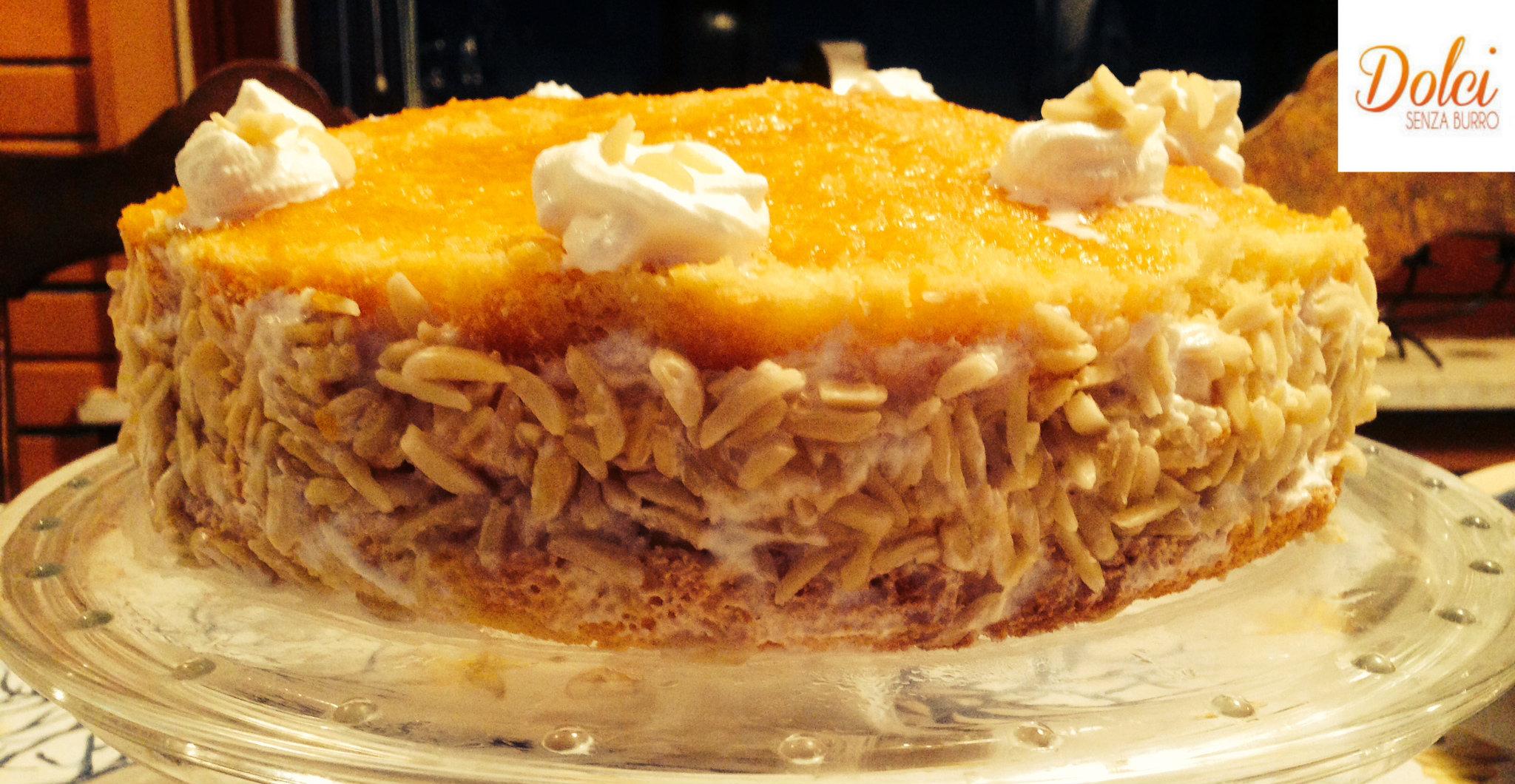 Torta di albicocche e crema senza burro dolci senza burro for Nuove ricette dolci