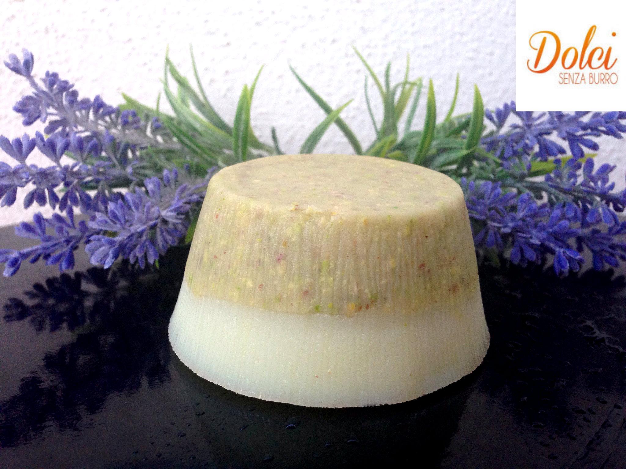 Budino Light alla Vaniglia e Pistacchio - Dolci senza burro
