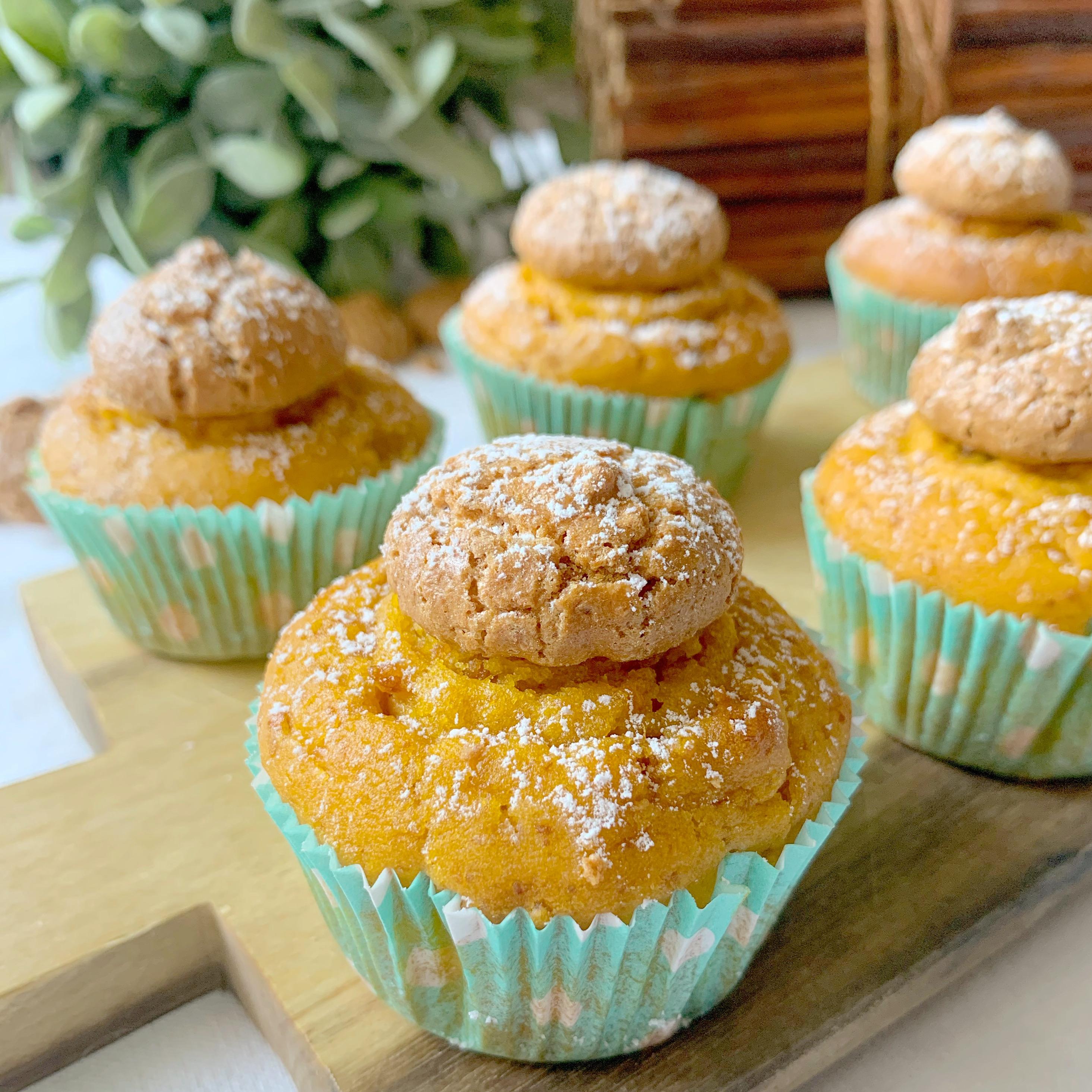 muffin-alla-zucca-e-amaretti-senza-burro