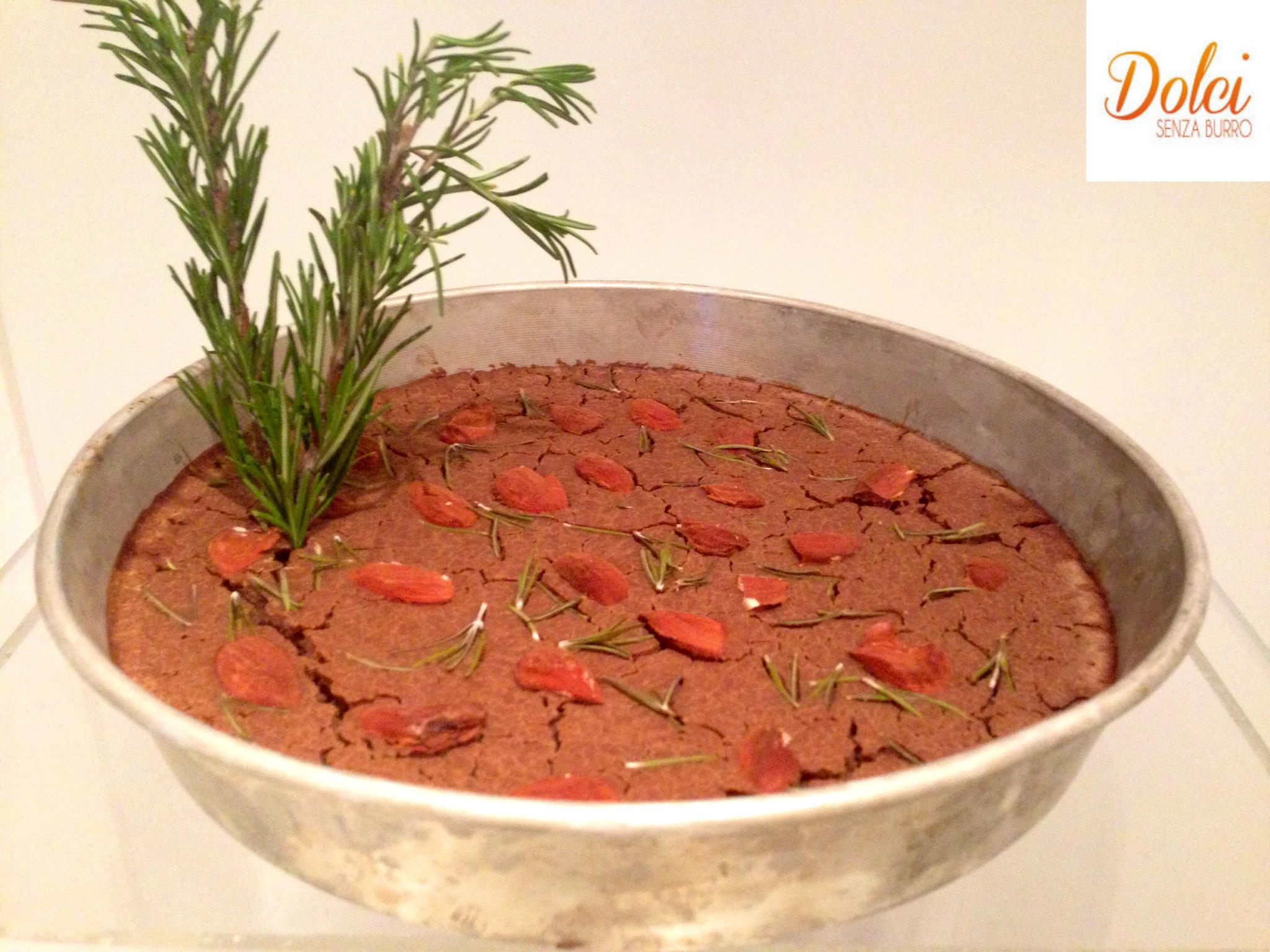 Il Castagnaccio preparato con Cukò di Imetc - Dolci Senza Burro