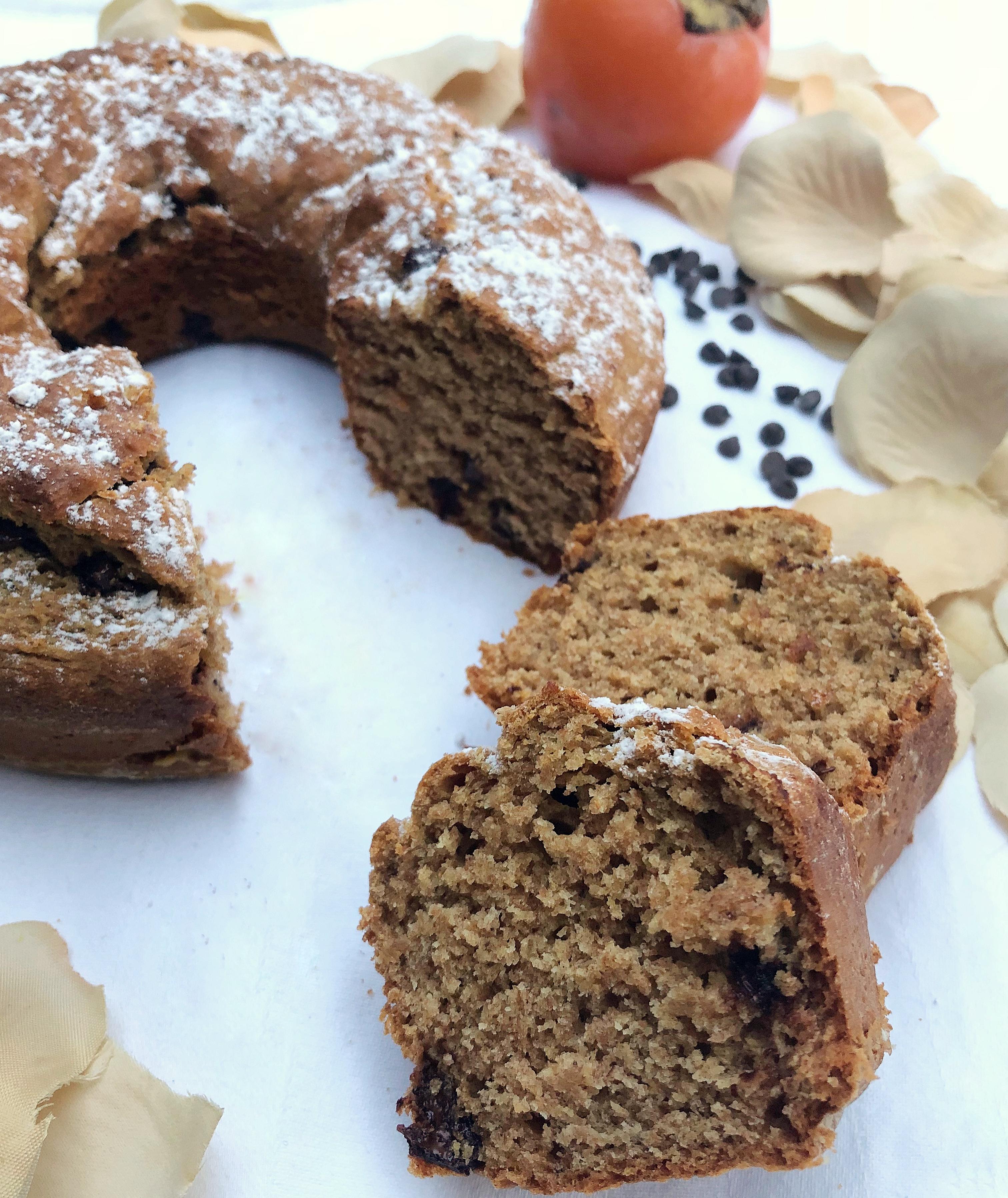 La Torta di Cachi Senza Burro, un dolce speciale di dolci senza burro