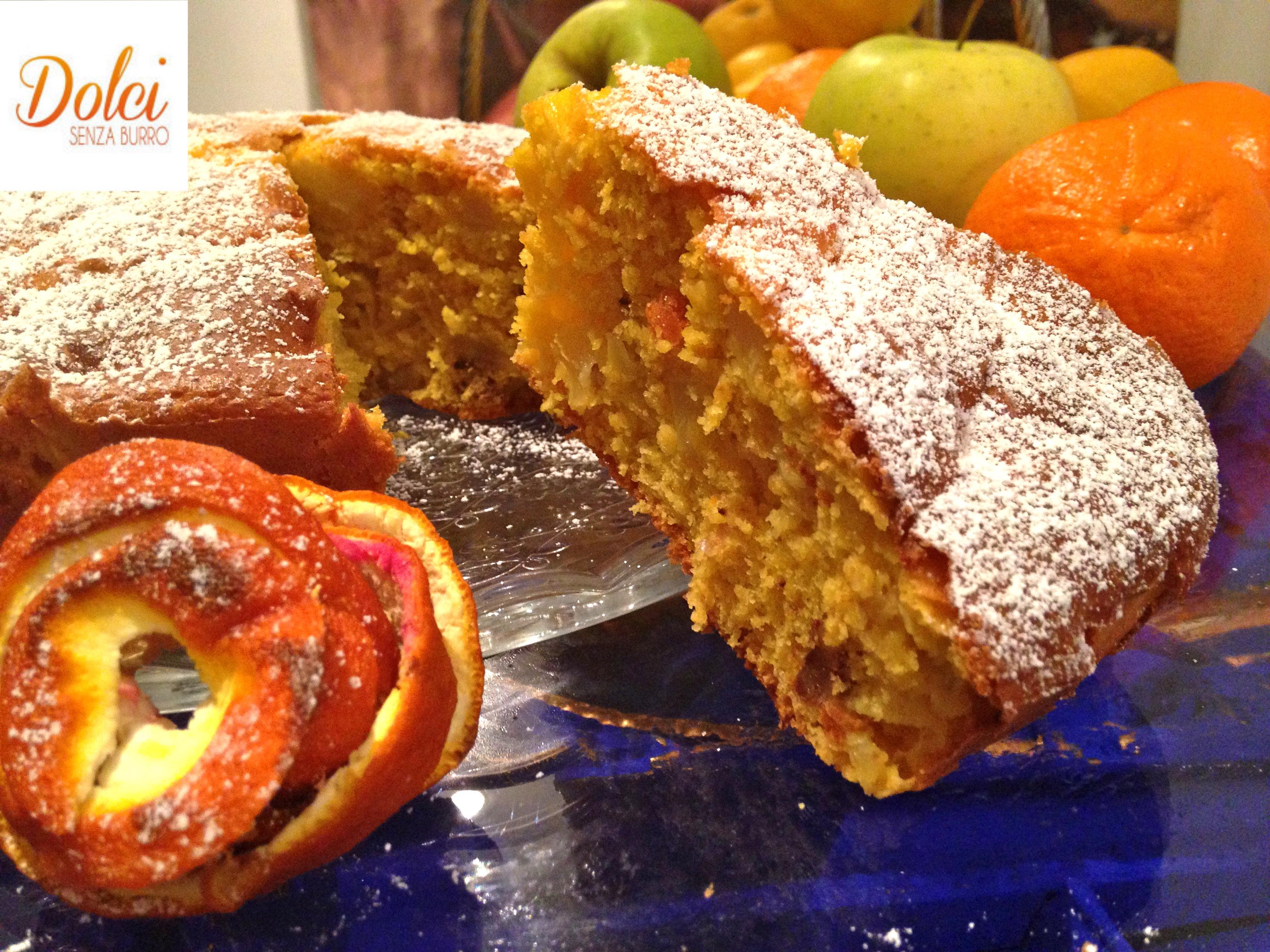 Torta di Mele e Arance Senza Burro, il dolce sano e genuino di Dolci Senza Burro