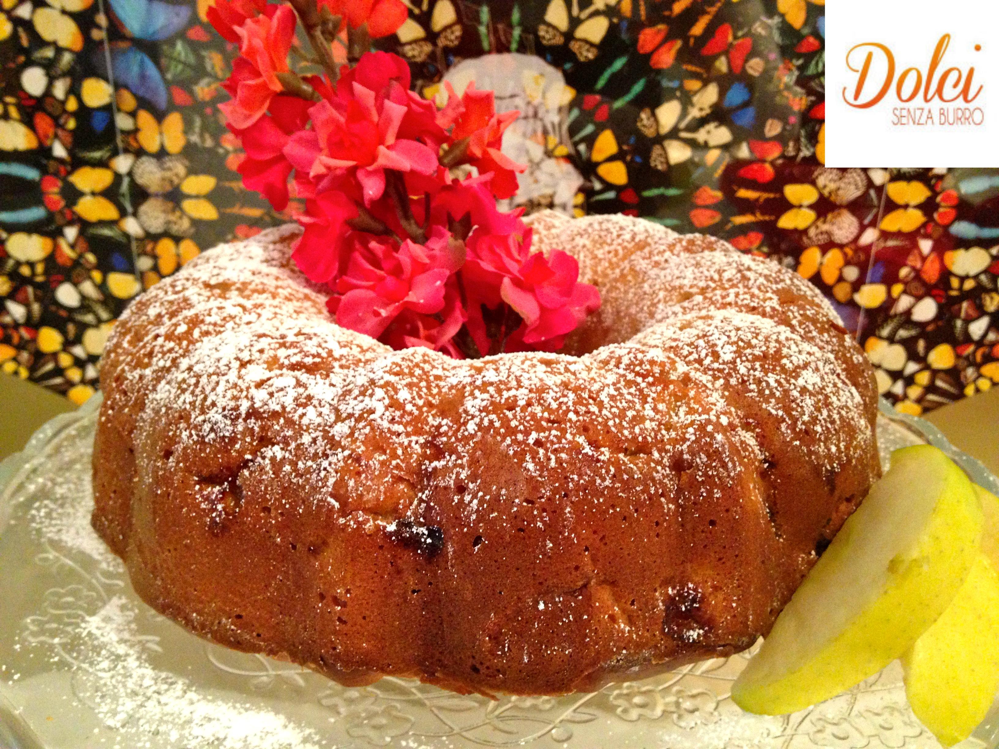Ciambellone Senza Burro alle Mele e Cardamomo , il dolce di mele speciale di dolci senza burro