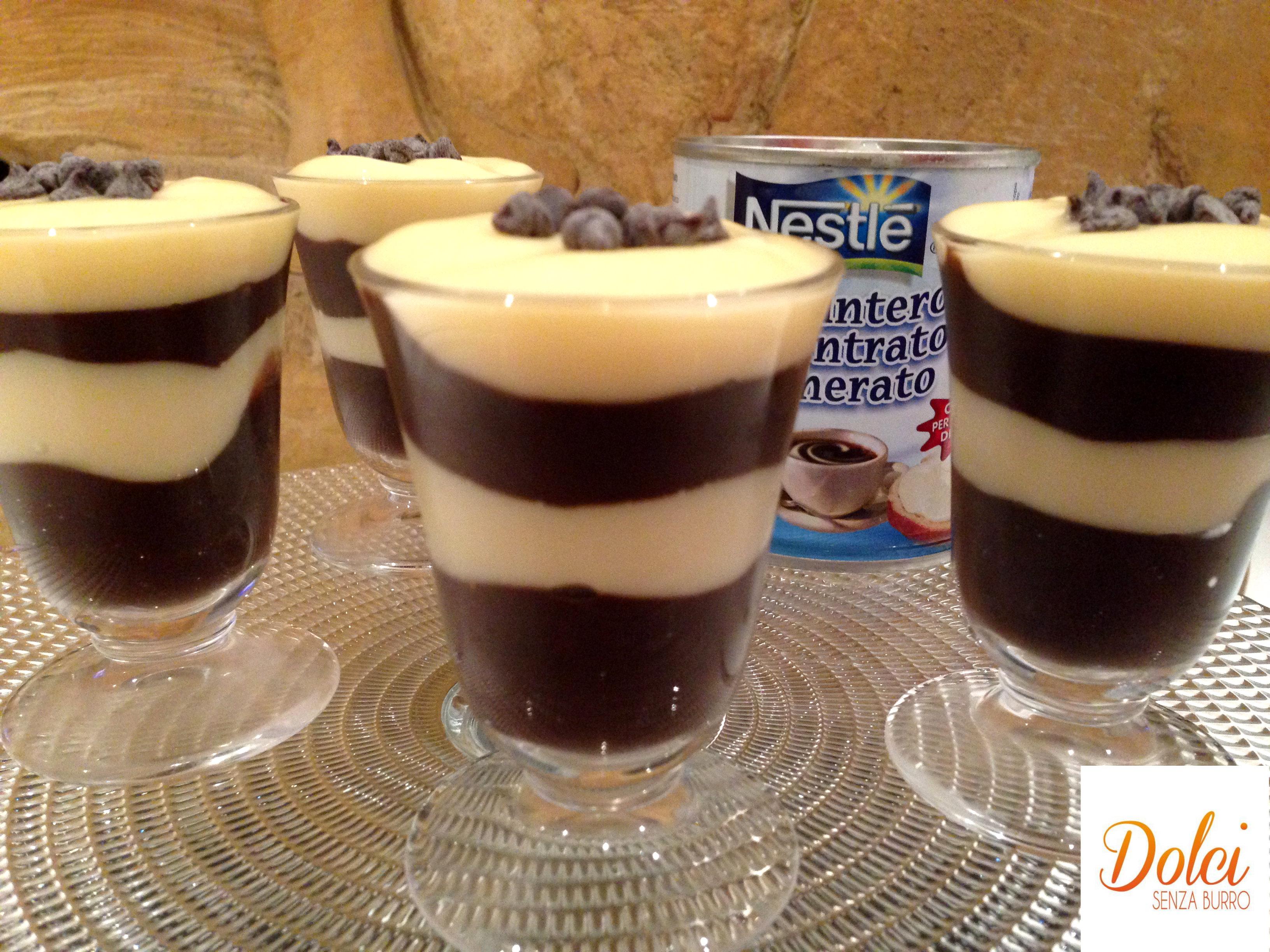 La Crema Bigusto è un dolce con il latte condensato di dolci senza burro