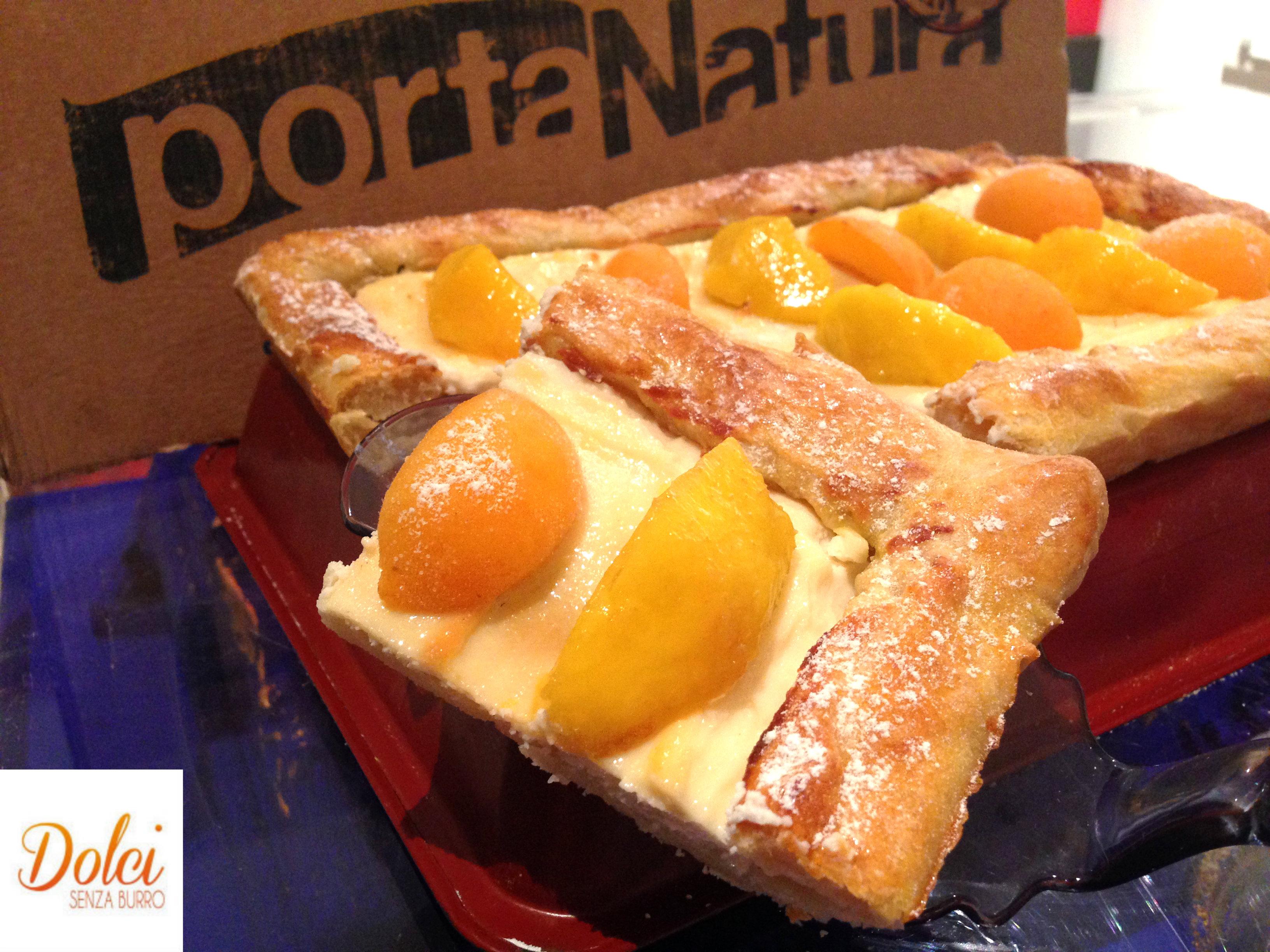 La Crostata di Pasta Sfoglia Senza Burro con frutta, una ricetta light di dolci senza burro