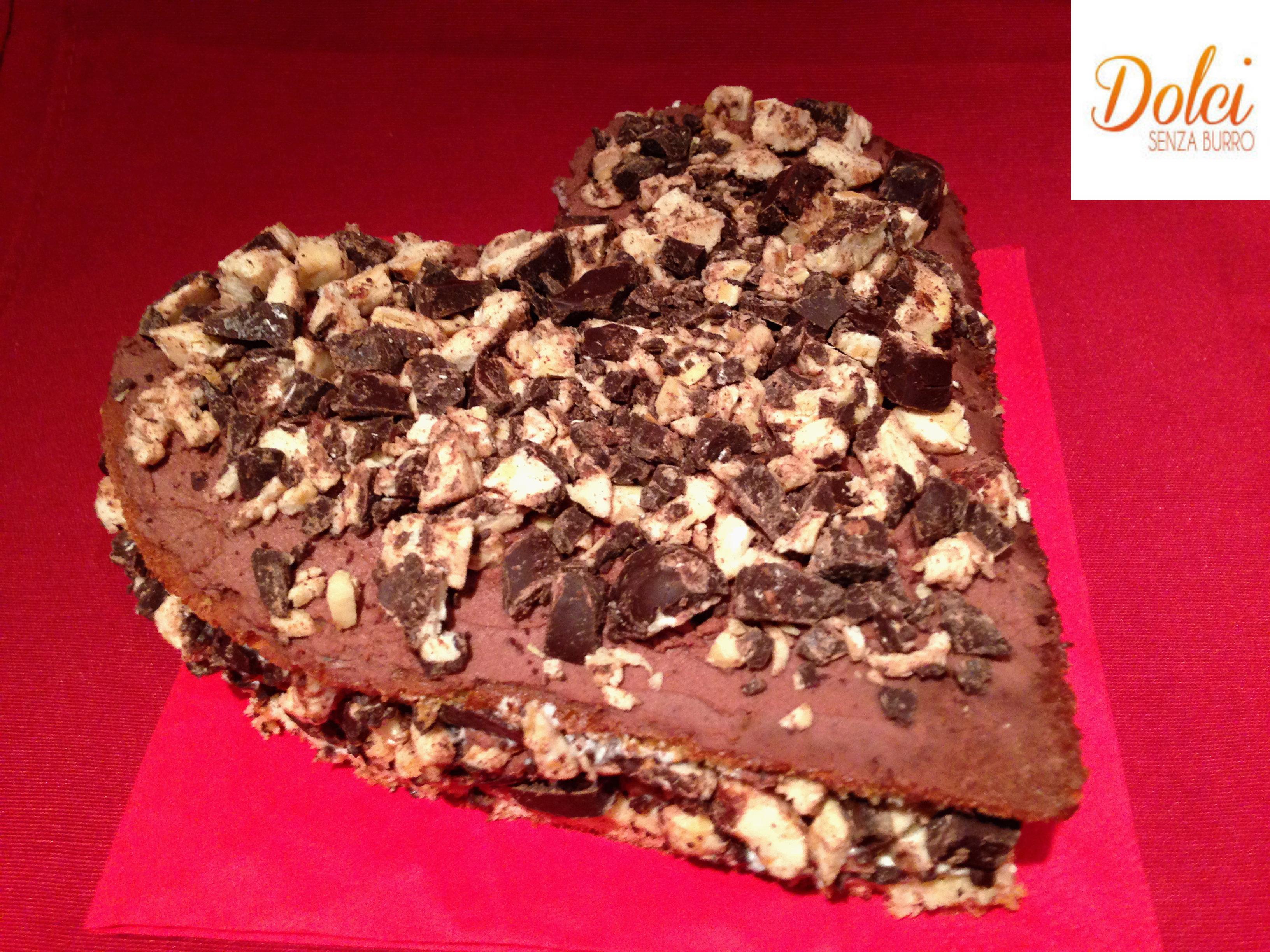 Torta di San Valentino Senza Burro, il dolce pieno di amore di dolci senza burro