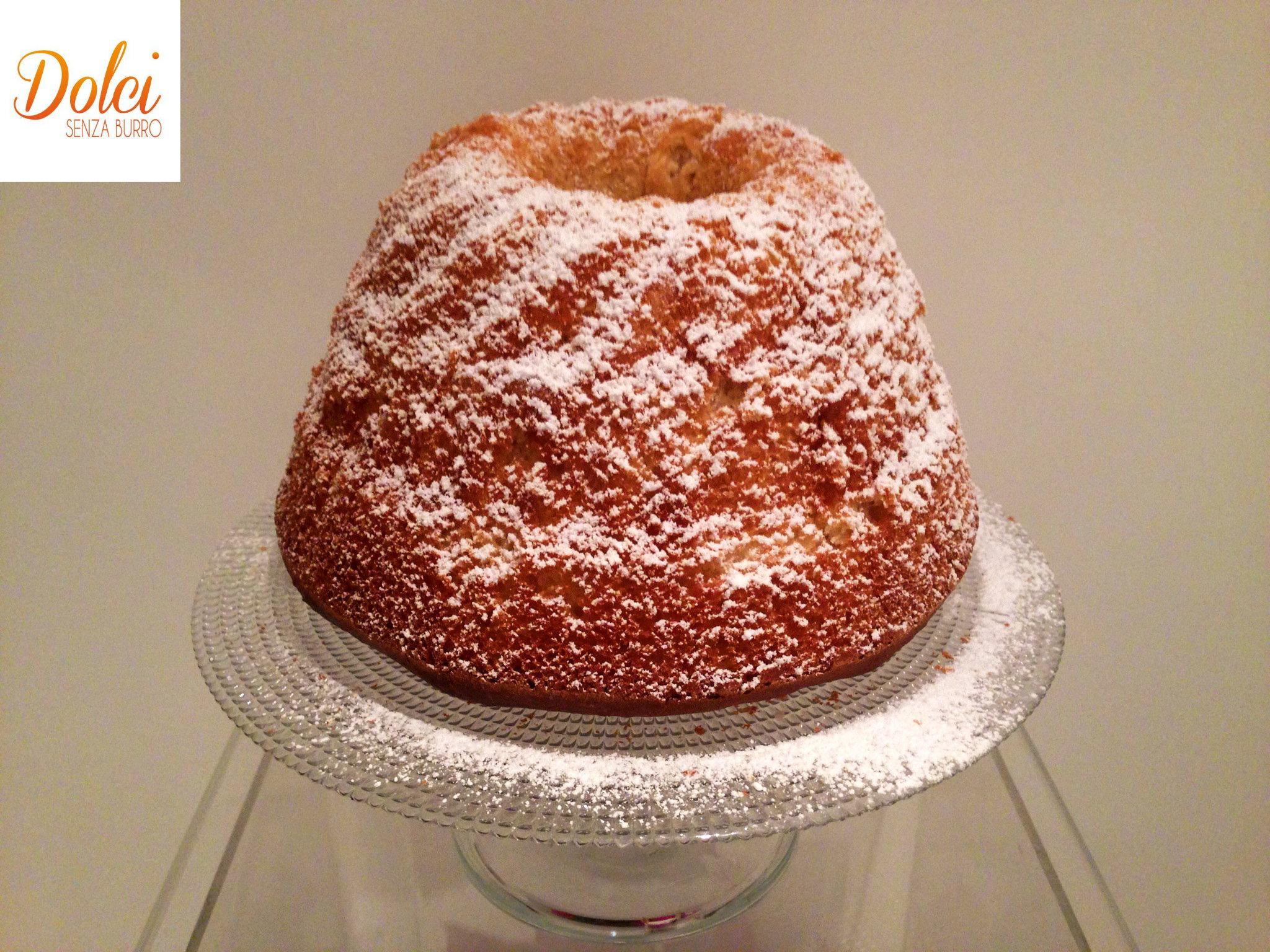 Il gugelhupf senza burro o kugelhupf, il famoso dolce di natale austriaco di dolci senza burro