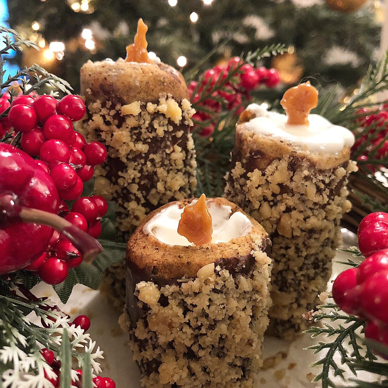 Candele Dolci di Frolla Senza Burro, una ricetta originale di dolci senza burro