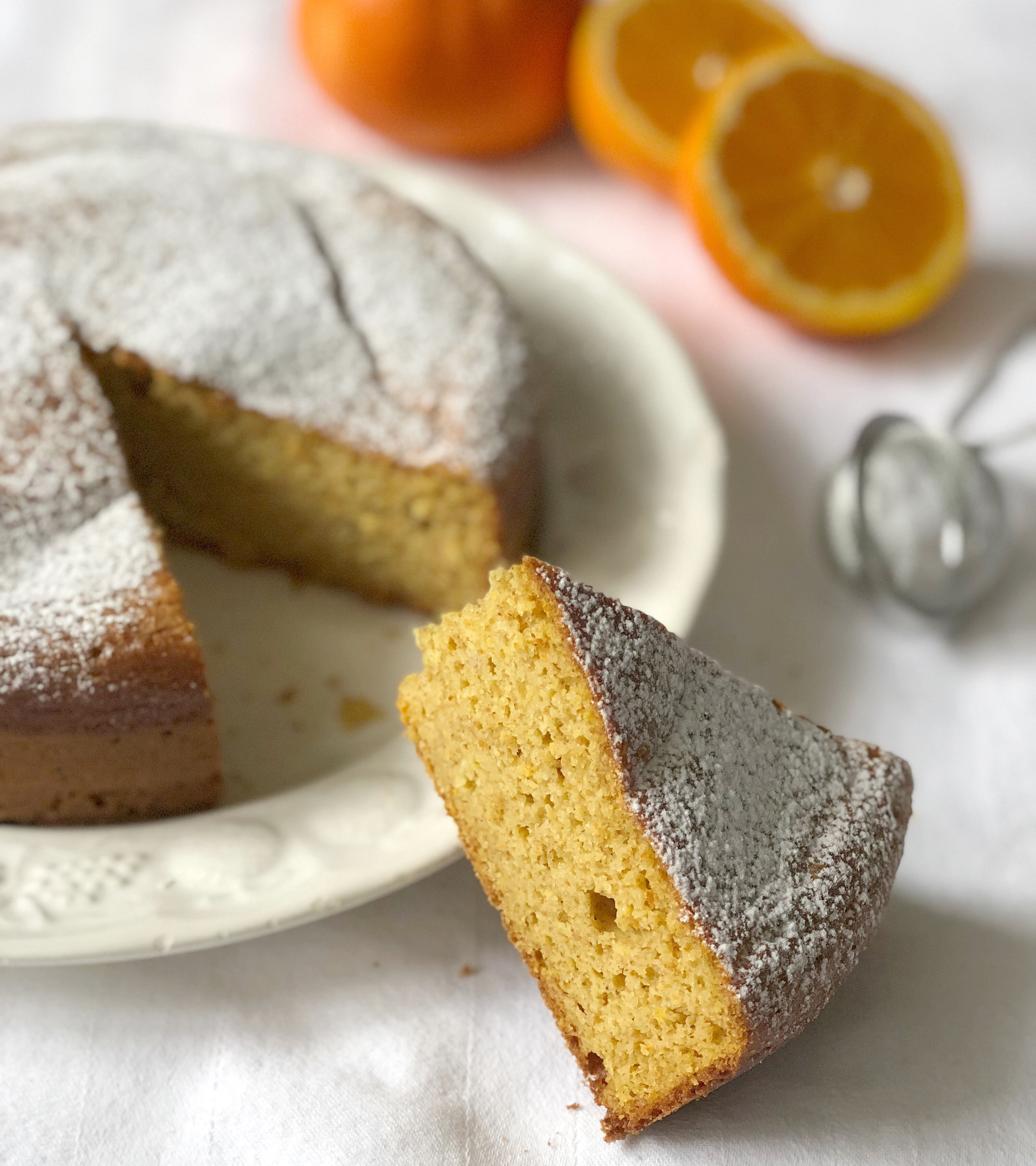 Il Pan d'Arancio Senza Burro è un goloso e leggero dolce perfetto in ogni occasione!