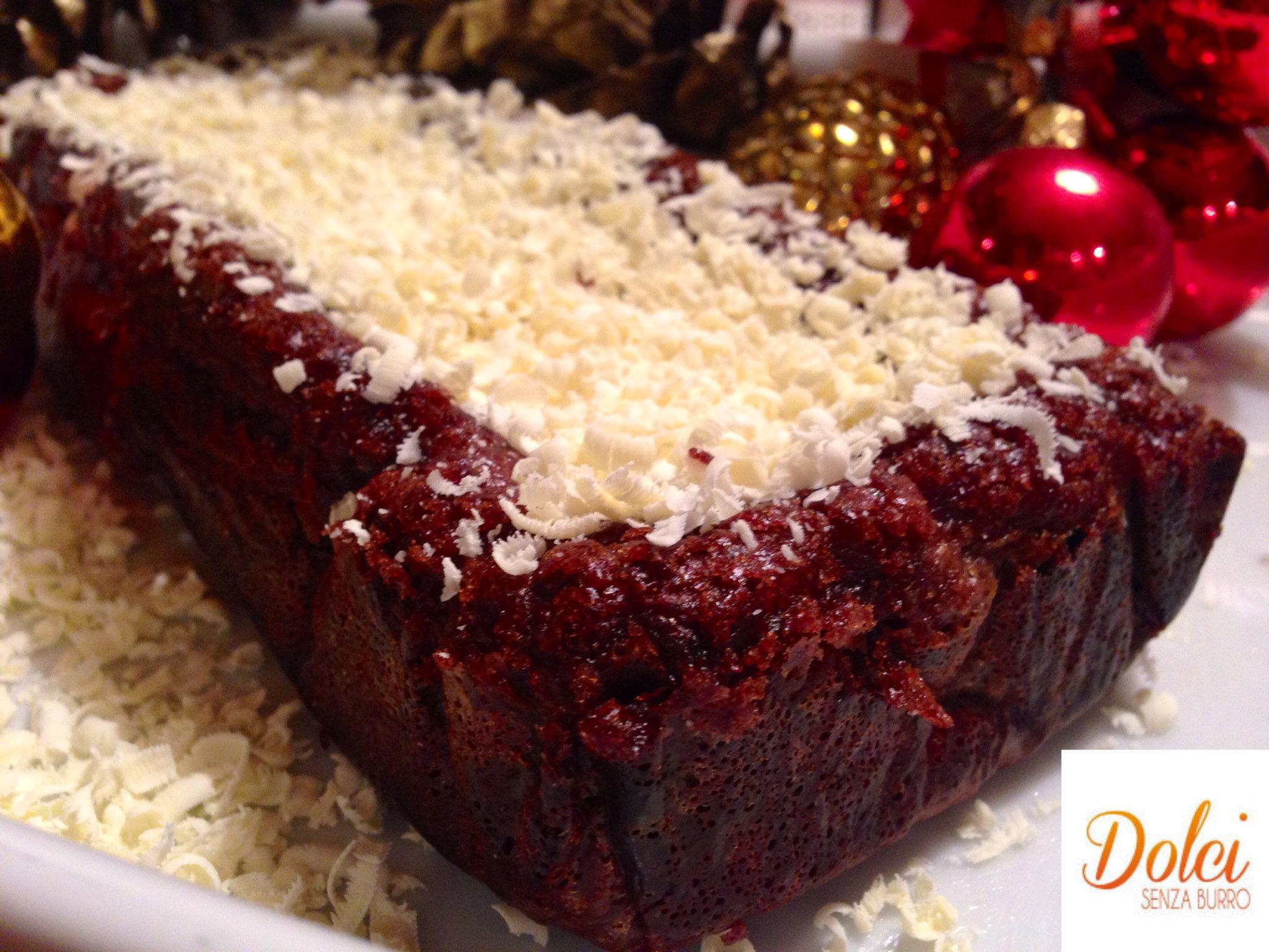 Torta Senza Burro al Doppio cioccolato è un goloso dolce al cioccolato di dolci senza burro
