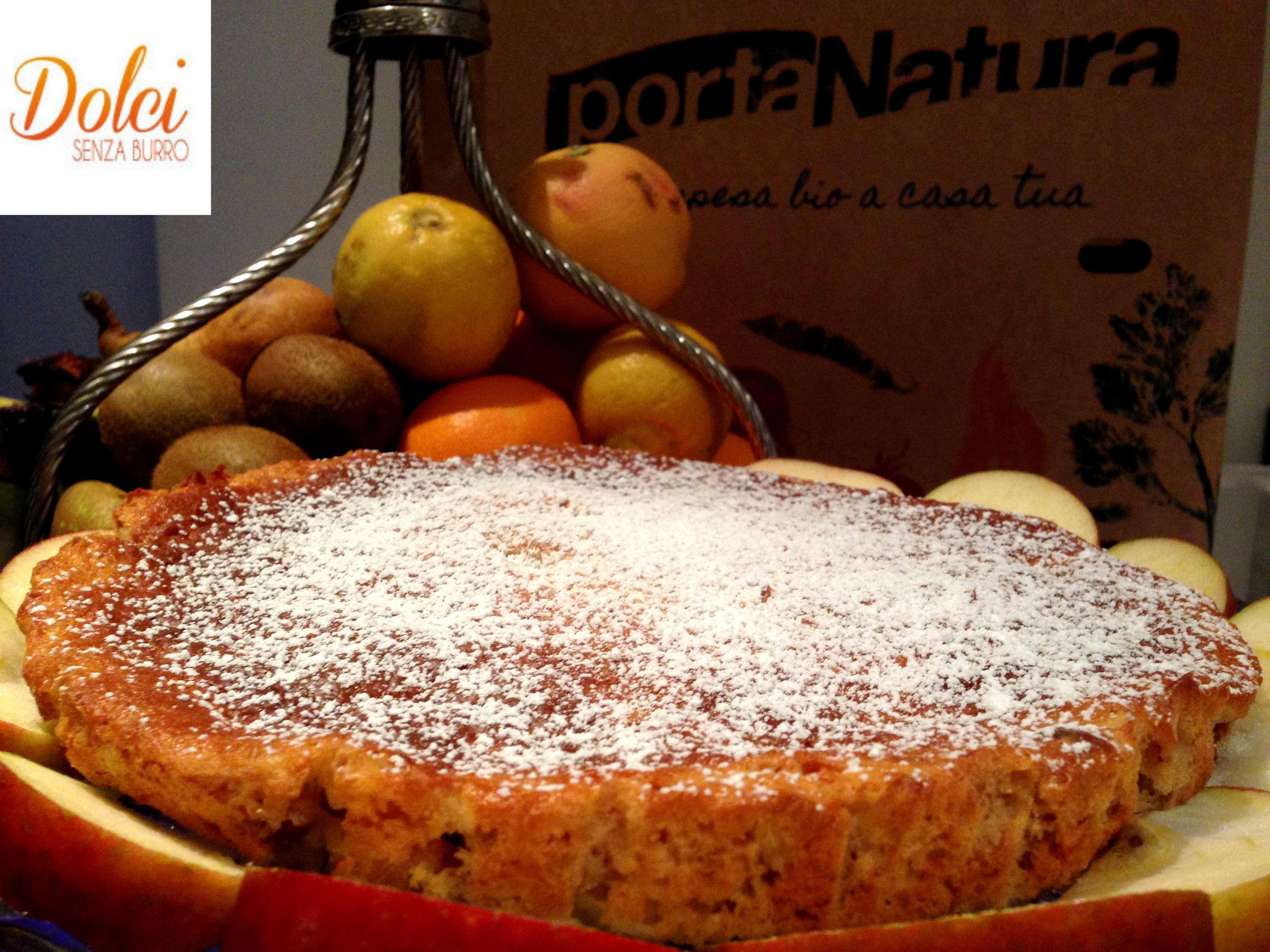 Torta di Frutta Senza Burro, un dolce senza lattosio di dolci senza burro