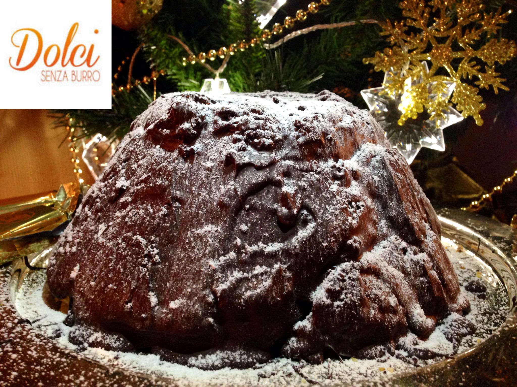 Zuccotto di Pandoro Senza Burro, il dolce speciale di dolci senza burro