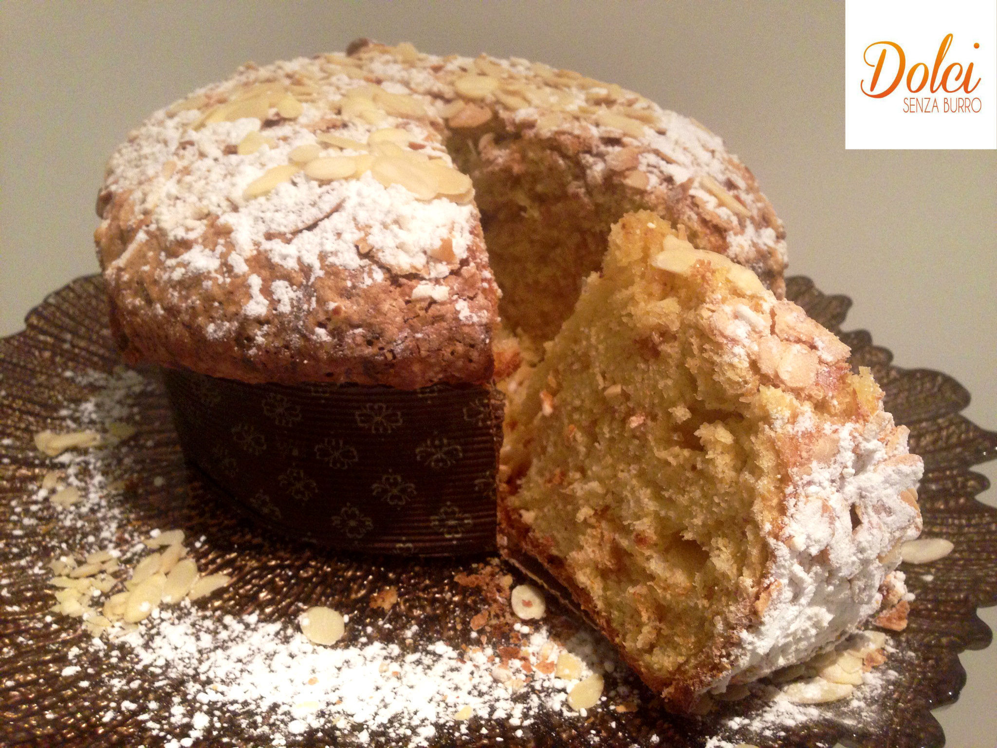 La Veneziana Dolce Senza Burro, la ricetta del panettone veneziana di dolci senza burro
