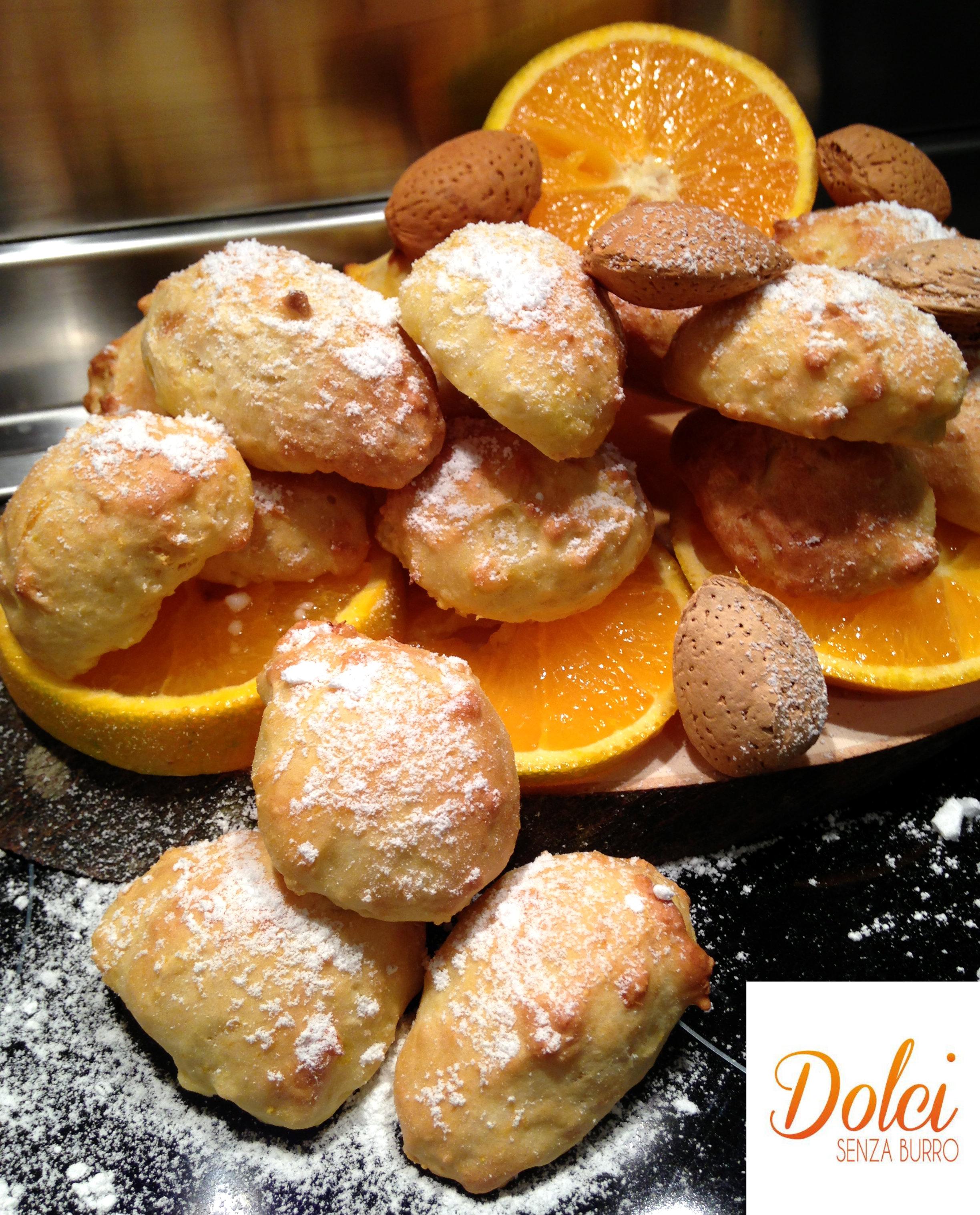 Biscotti all Arancia Senza Burro - Dolci Senza Burro