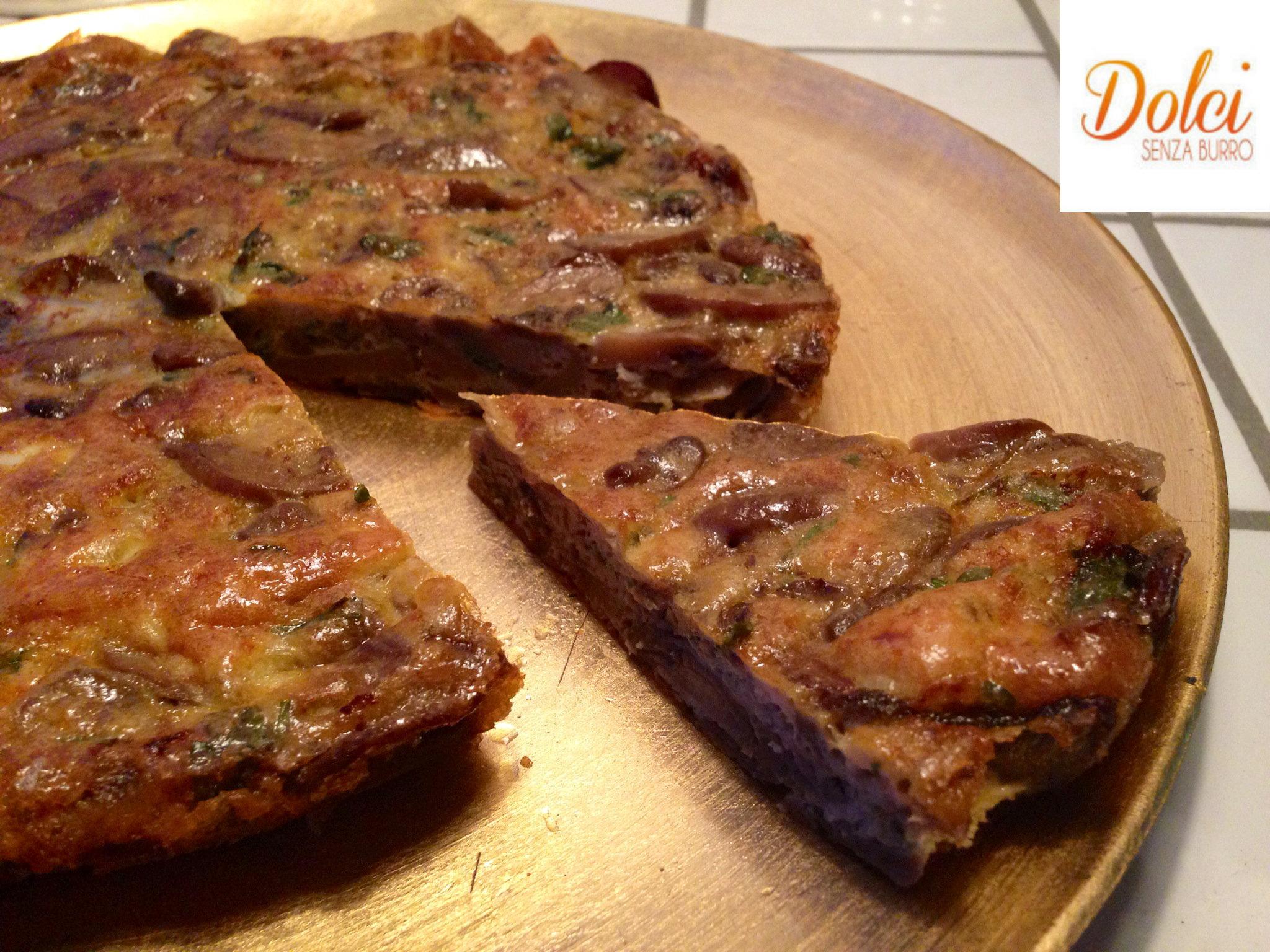 Frittata al Forno di Melanzane e Ricotta un piatto light di dolci senza burro
