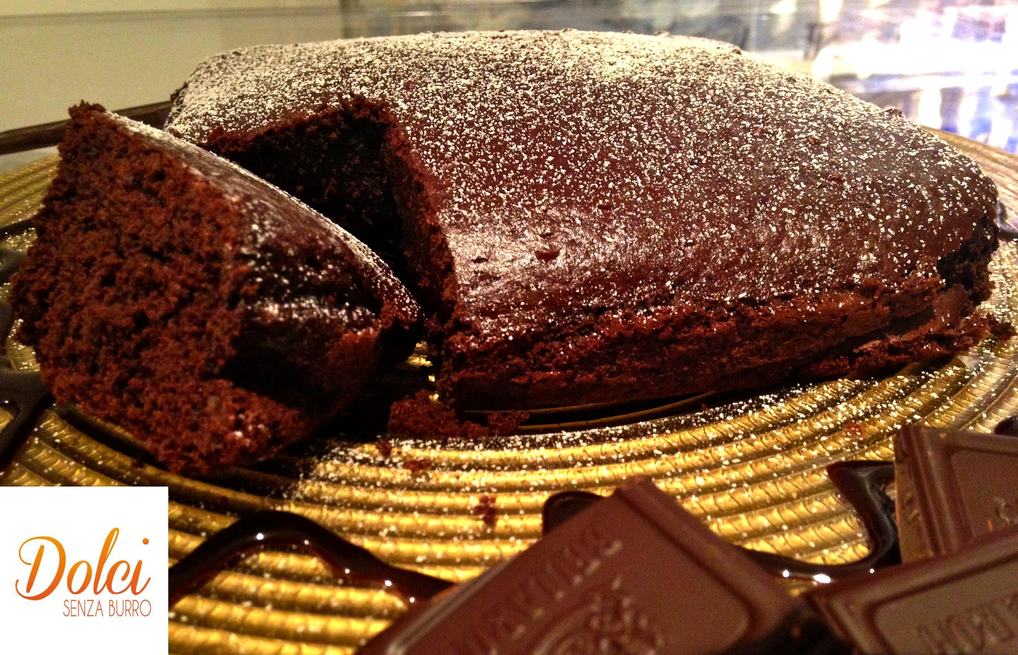 Torta al Cioccolato senza Burro e Uova, il dolce light di dolci senza burro
