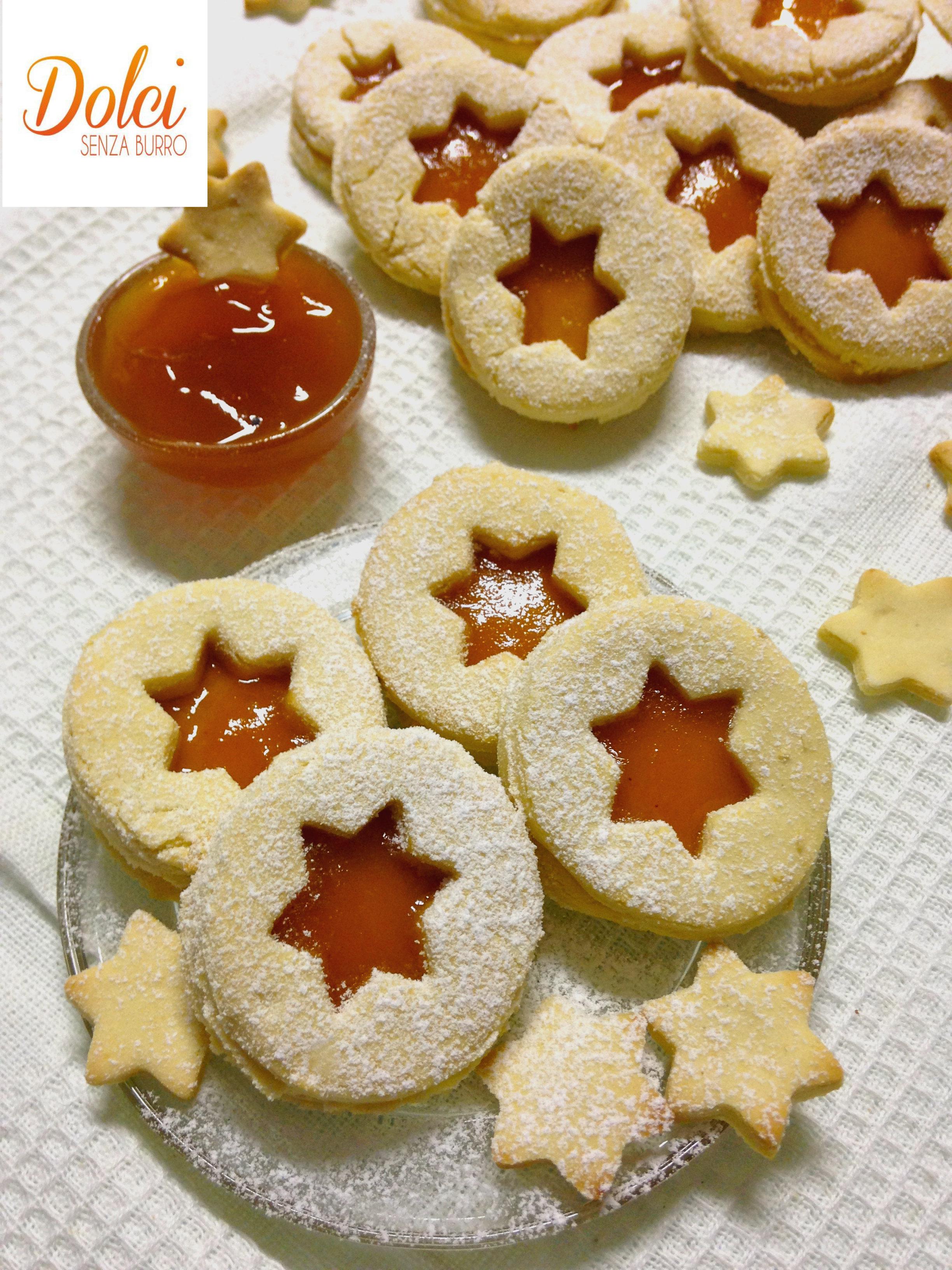 biscotti senza burro alla marmellata