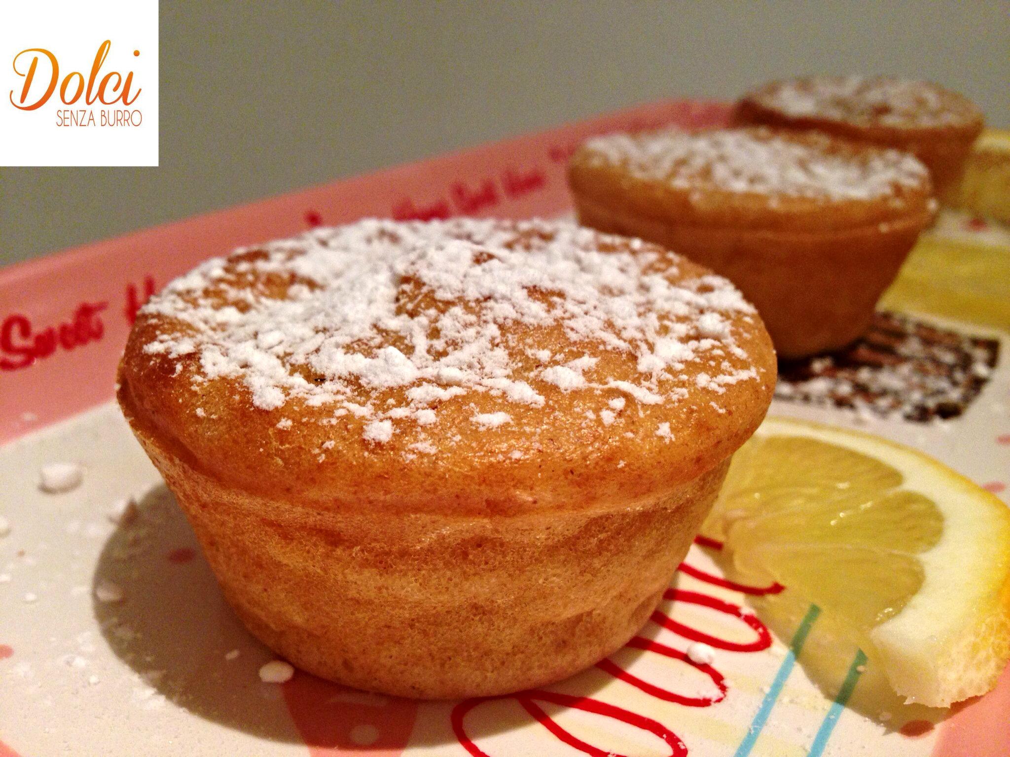 Famoso Muffin al Limone e Zenzero Vegani con Stevia - Dolci Senza Burro HT71
