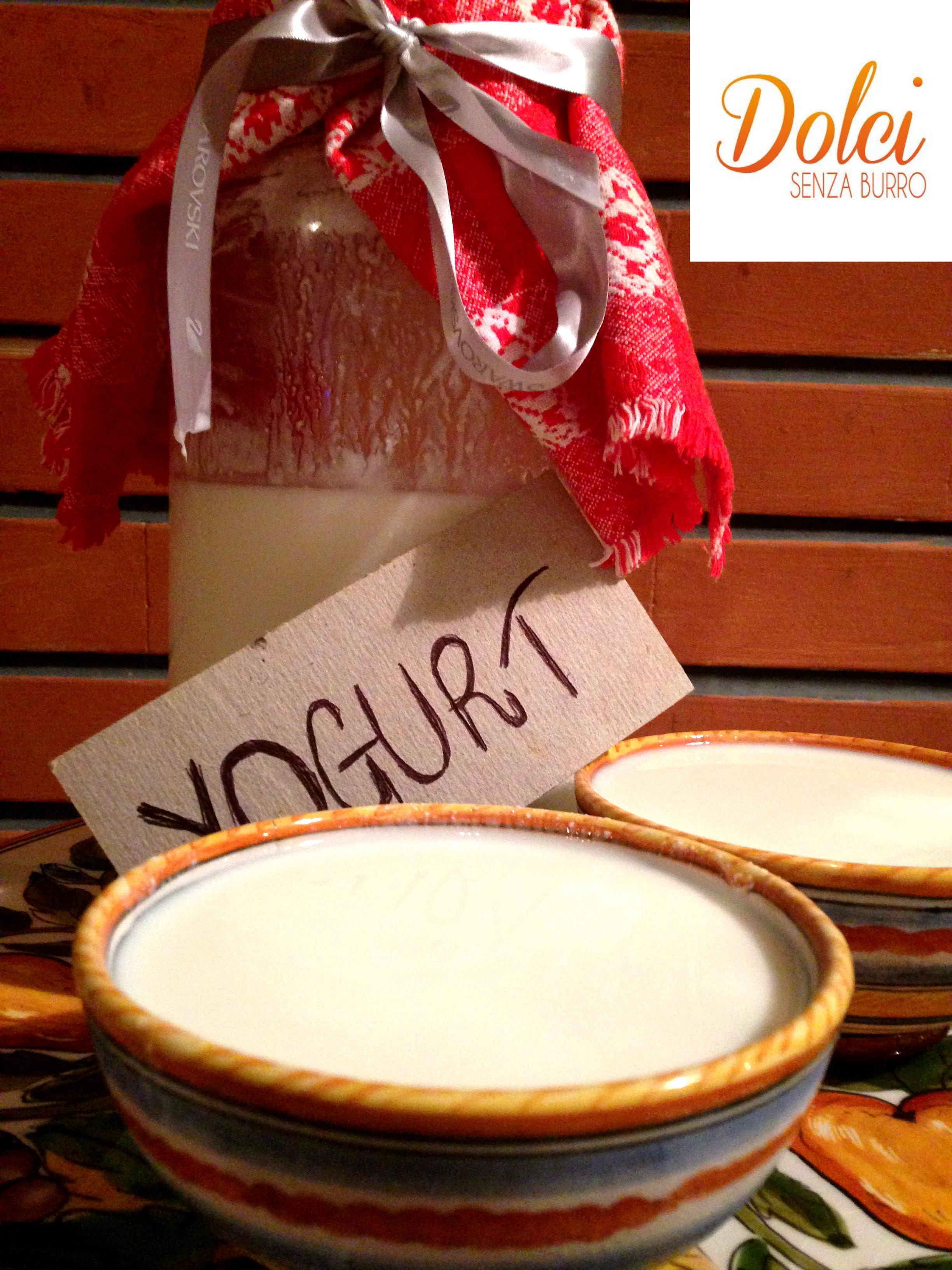 yogurt fatto in casa, la ricetta di dolci senza burro