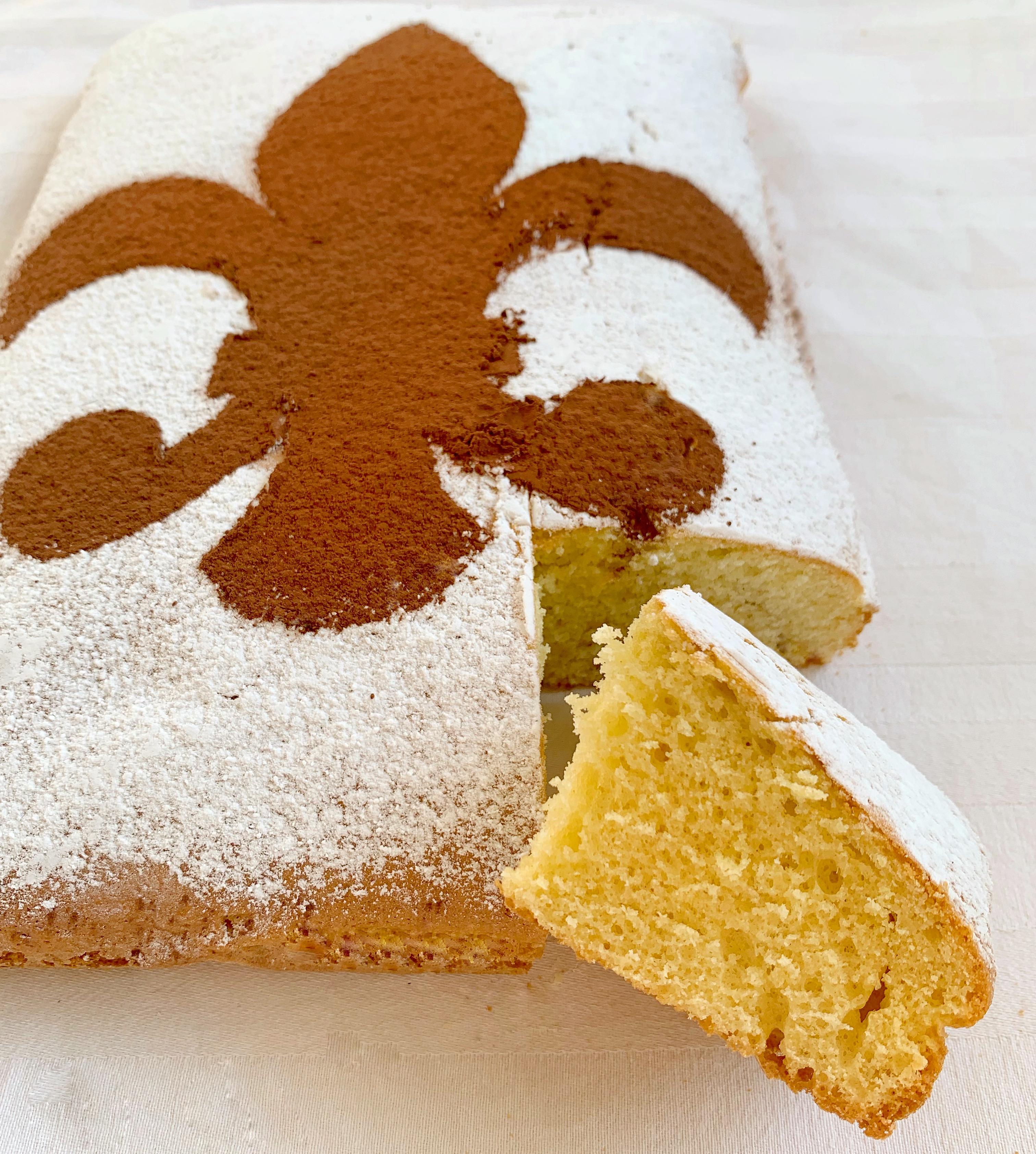 La Schiacciata alla Fiorentina un dolce di carnevale toscano semplice e leggero!