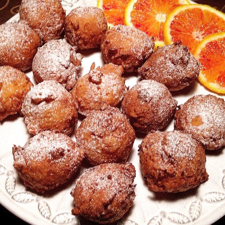 Frittelle Dolci di Riso all'Arancia, super golose e profumate di dolci senza burro