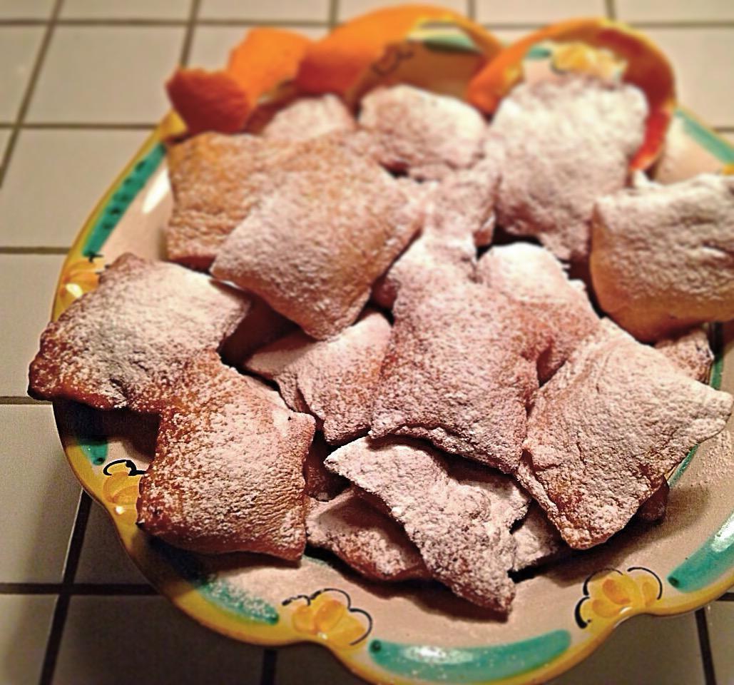 Bugie ripiene di Carnevale golose e sfiziose di dolci senza burro