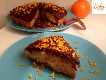 Torta Arancia e Cioccolato Senza Burro, il dolce goloso di dolci senza burro