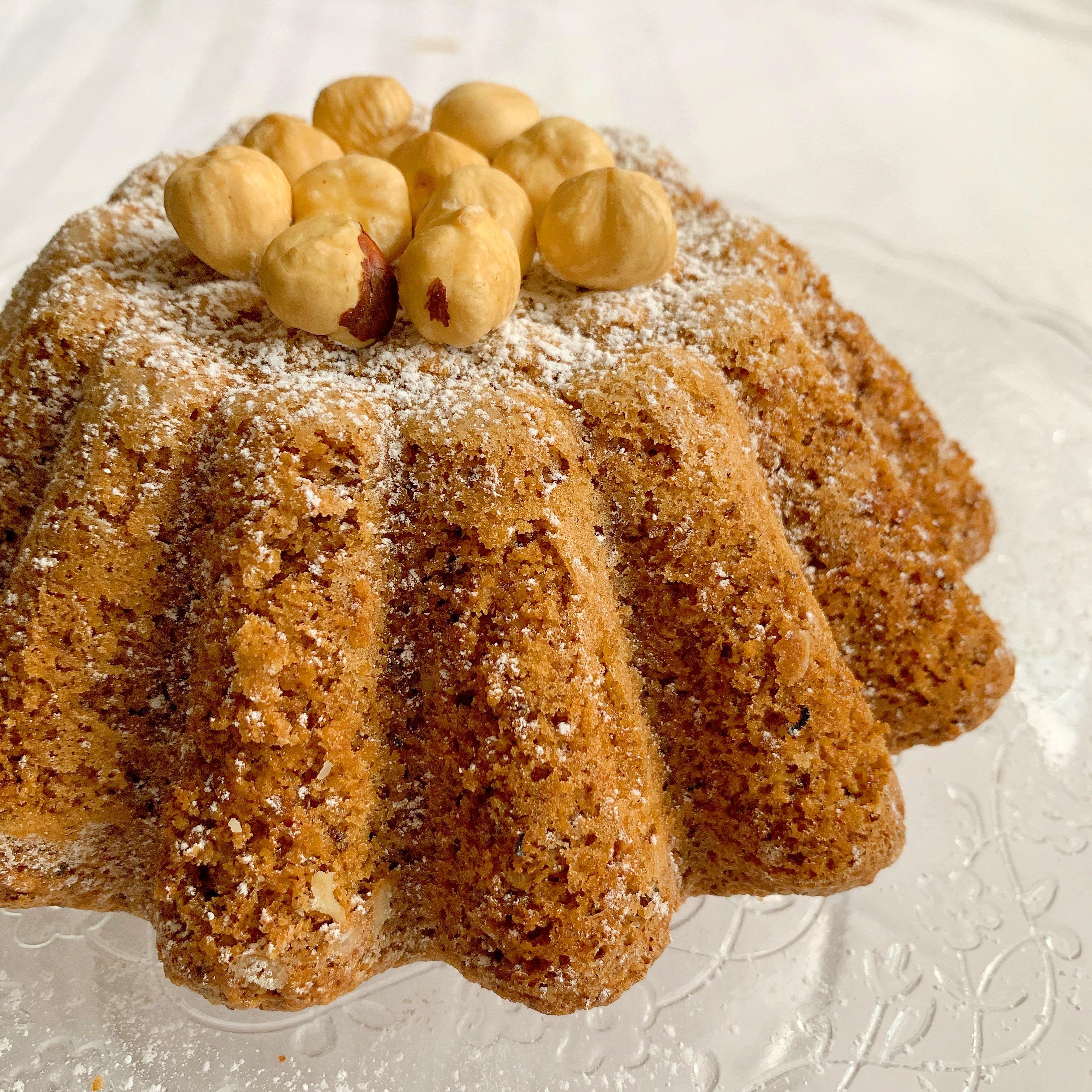 La Torta alle Nocciole Senza Burro un dolce leggero energetico e goloso!