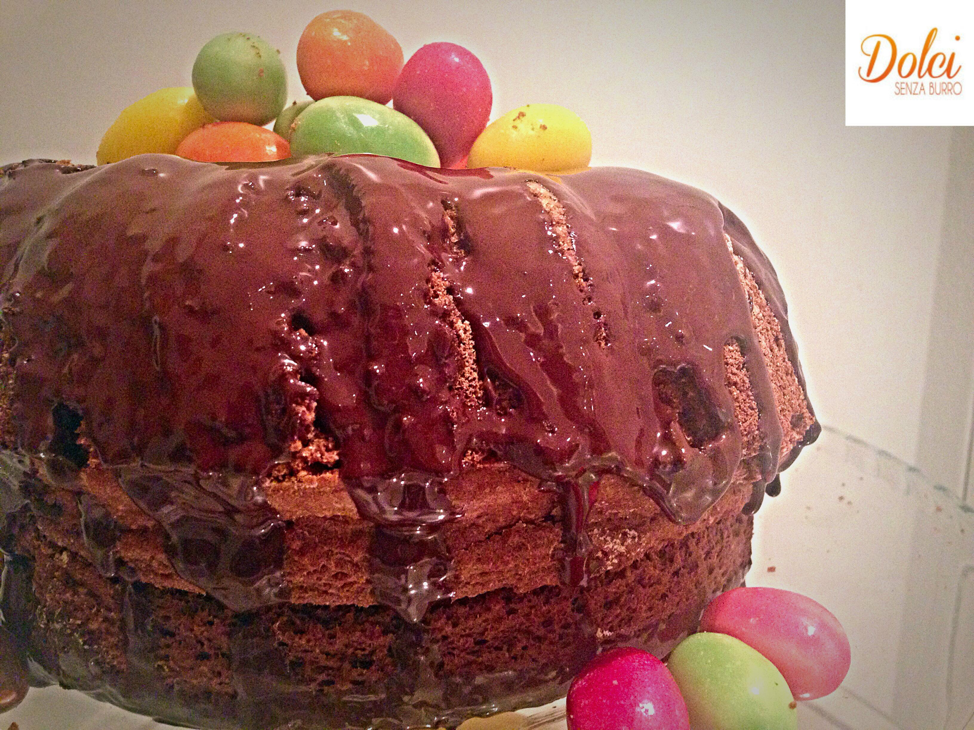 Torta di Pasqua Senza Burro, il dolce di pasqua goloso di Dolci senza burro